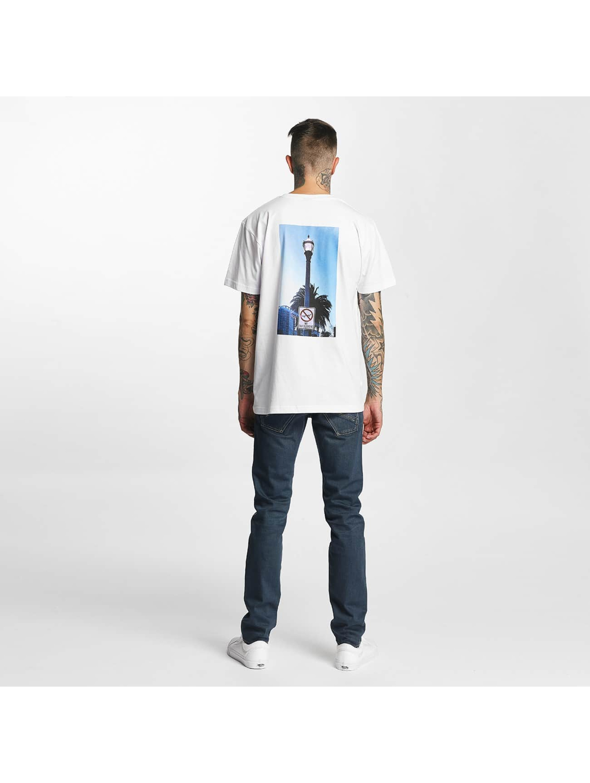 Mister Tee T-Shirt Not A Crime blanc