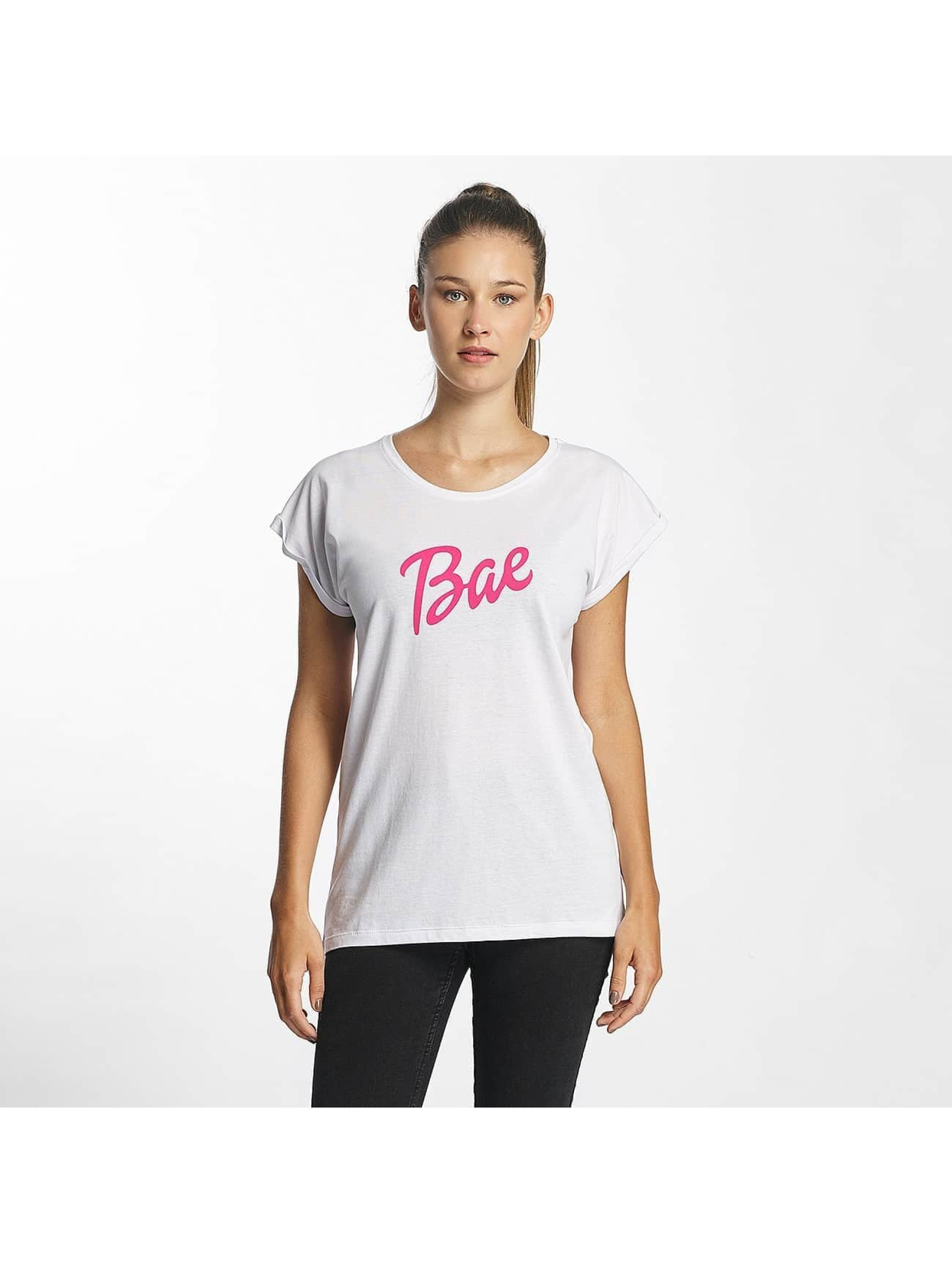 Mister Tee T-Shirt Bae blanc