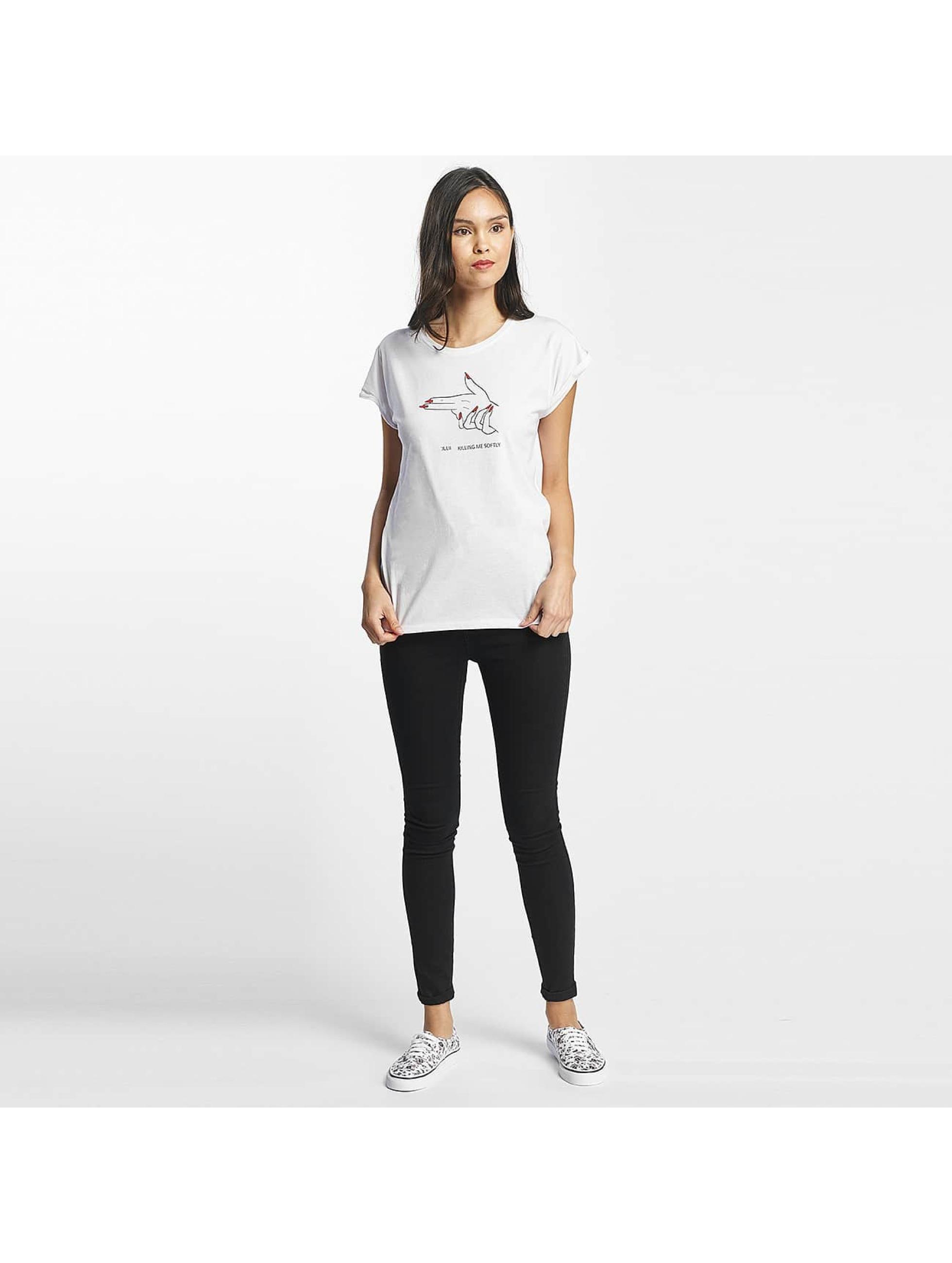 Mister Tee T-Shirt Killing Me Softly blanc