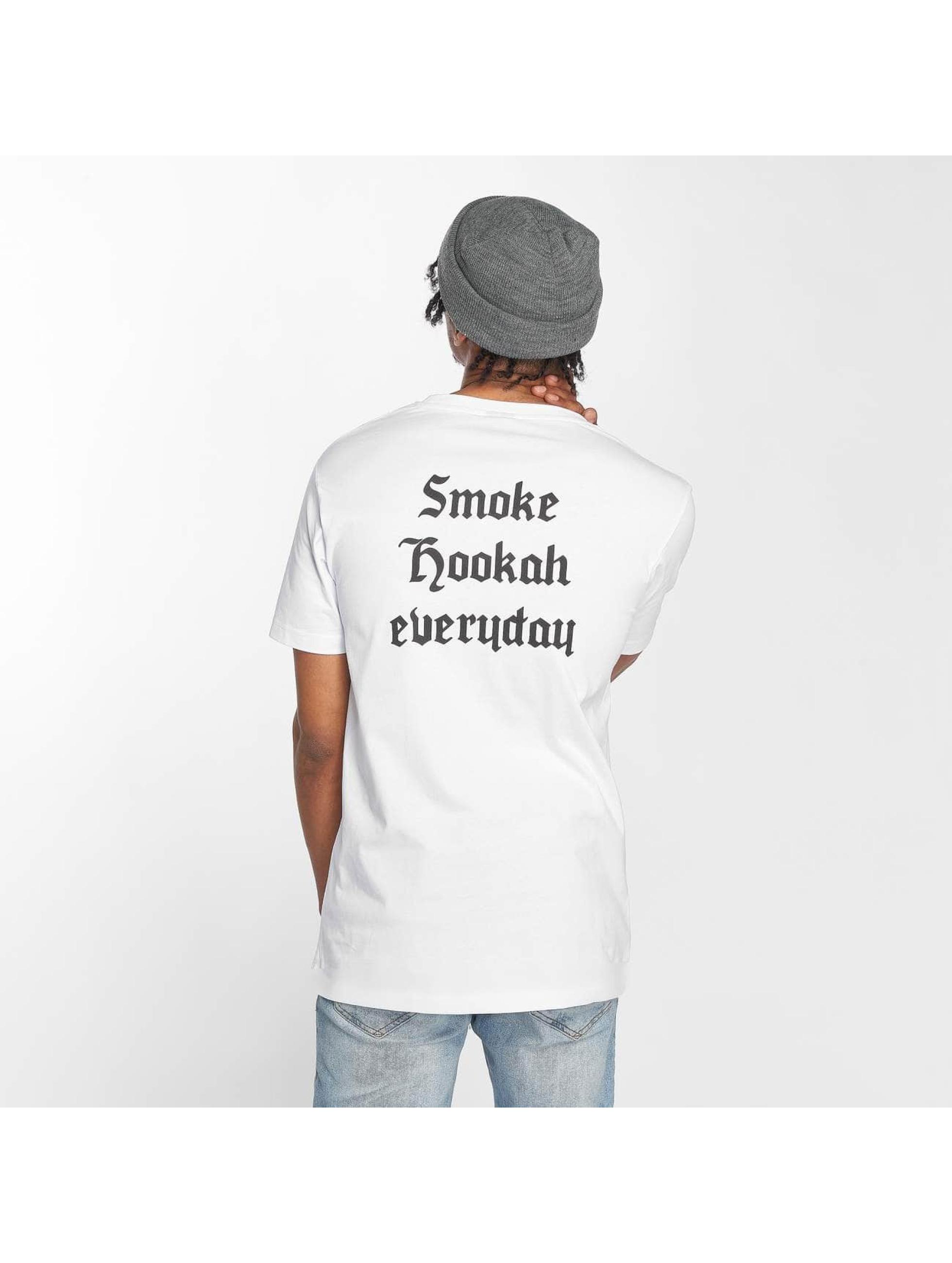 Mister Tee T-Shirt Hookah Everyday blanc