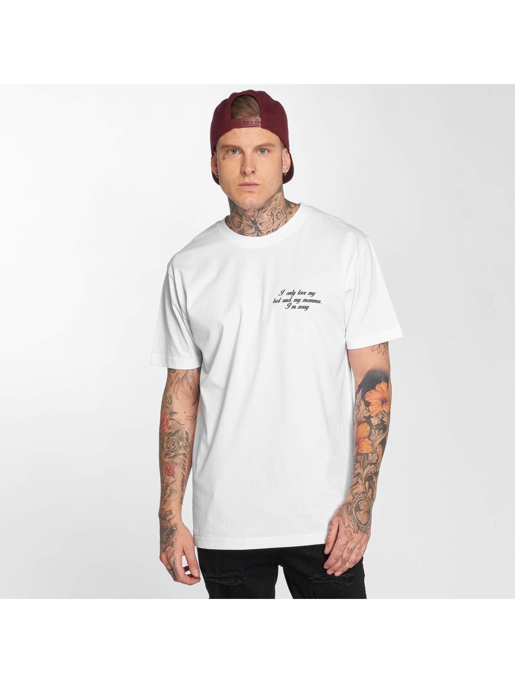 Mister Tee T-Shirt I'm Sorry blanc