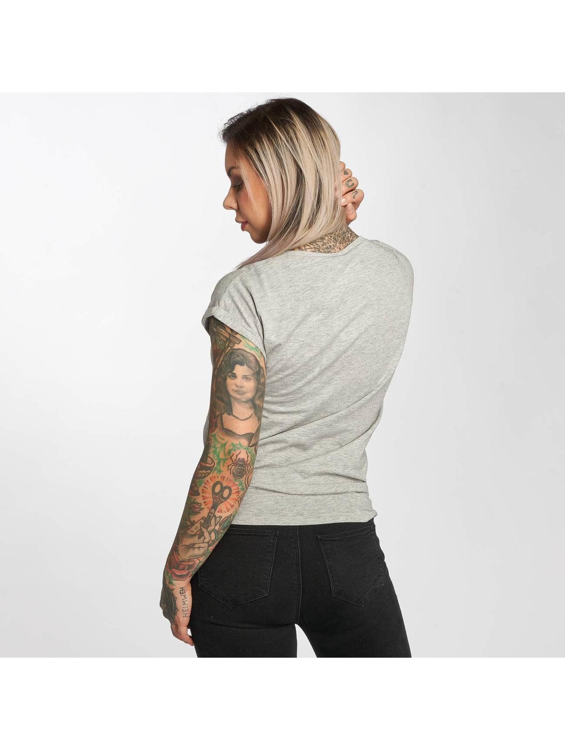 Mister Tee T-Shirt Justin Bieber gray