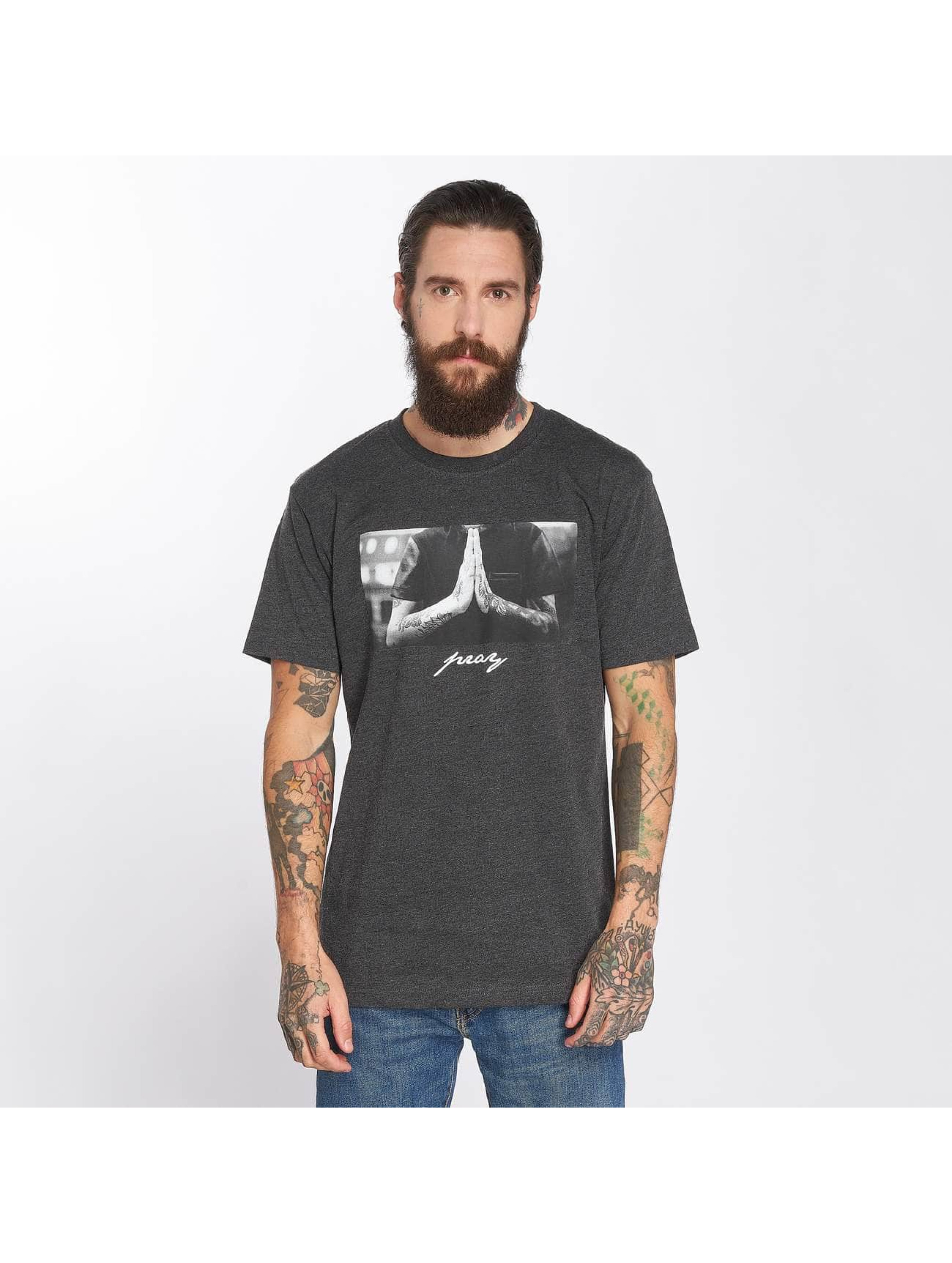 Mister Tee T-Shirt Pray grey