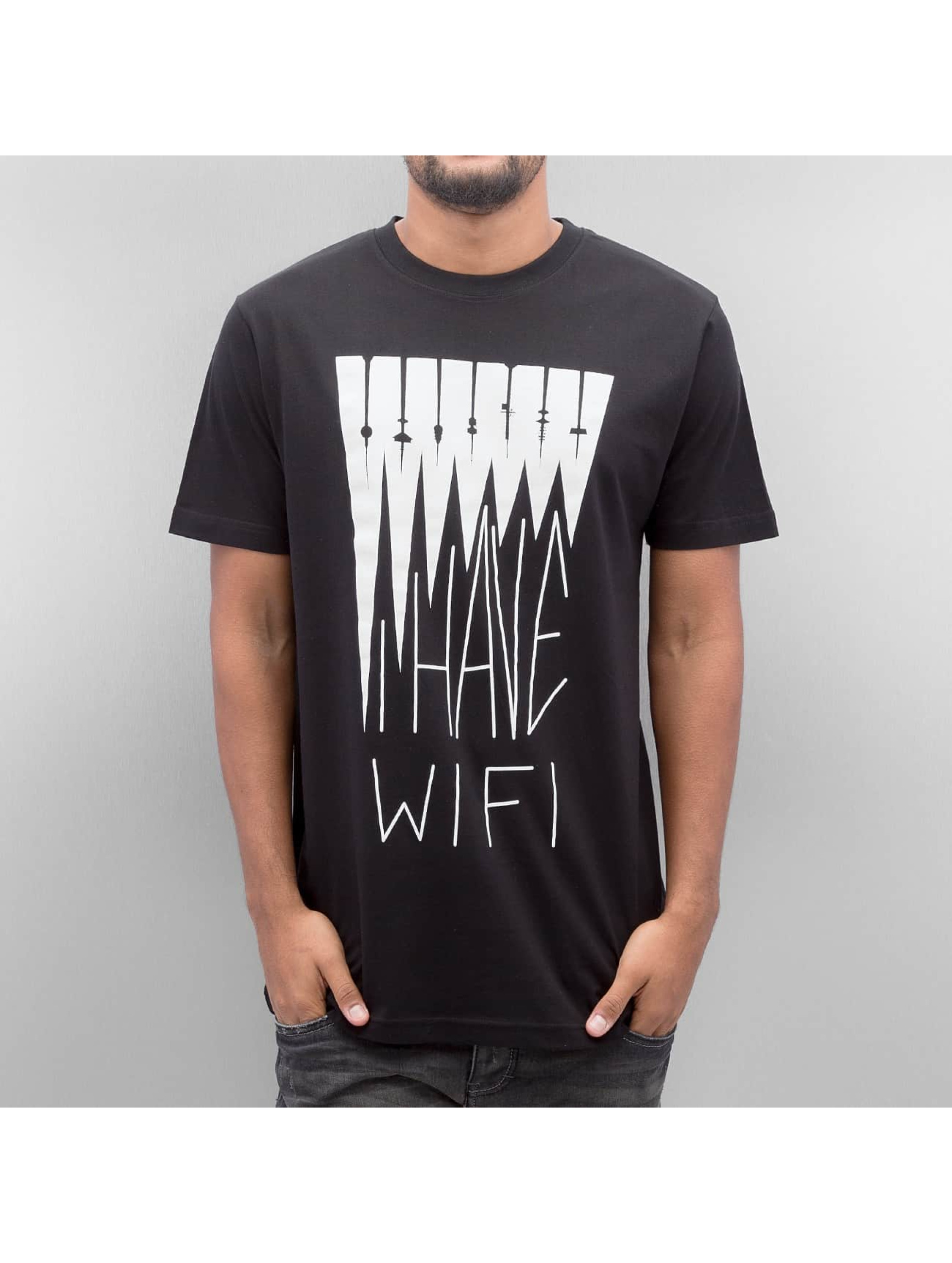 Mister Tee T-shirt I Have Wifi nero