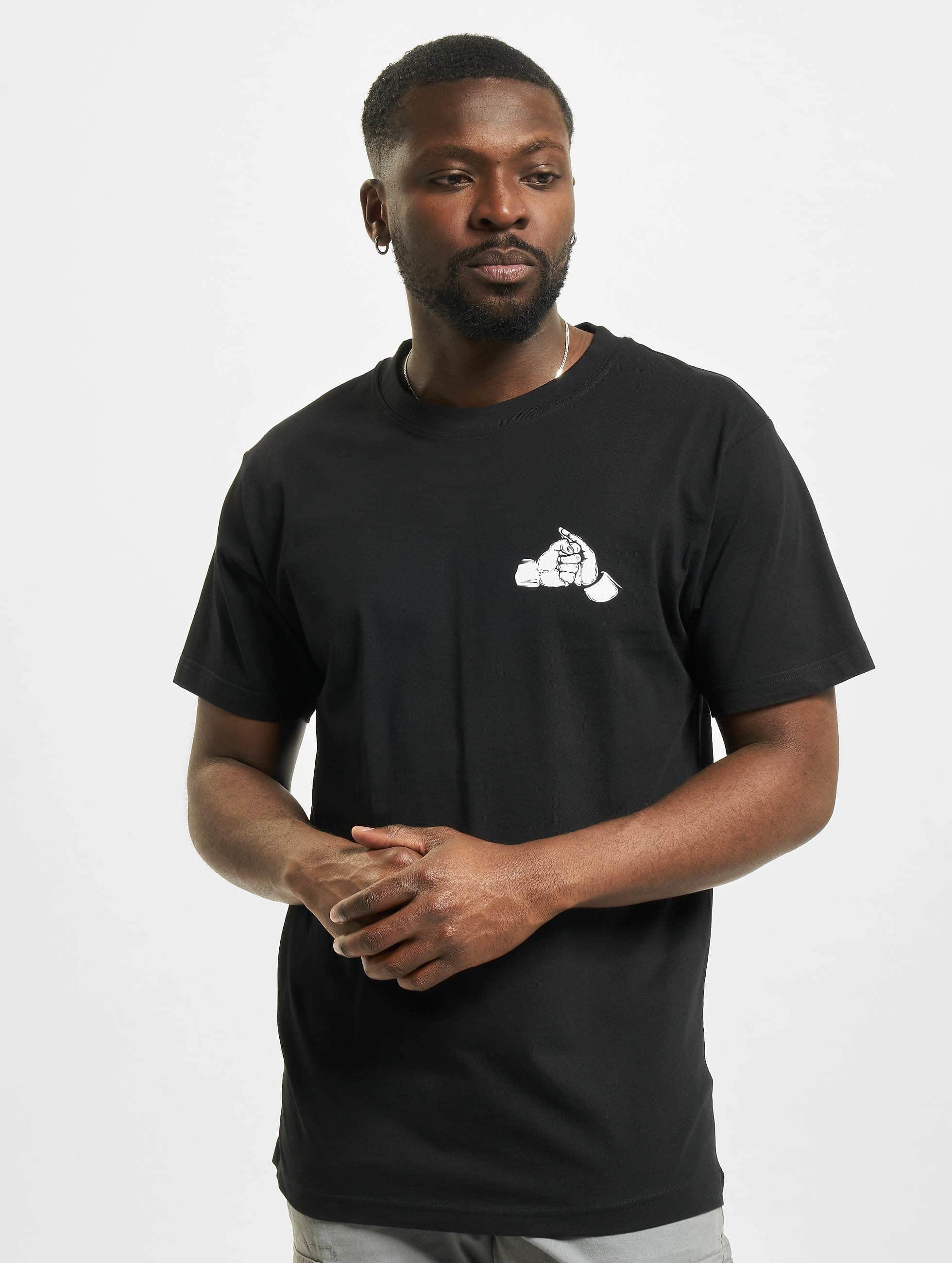 Mister Tee T-shirt Fist nero