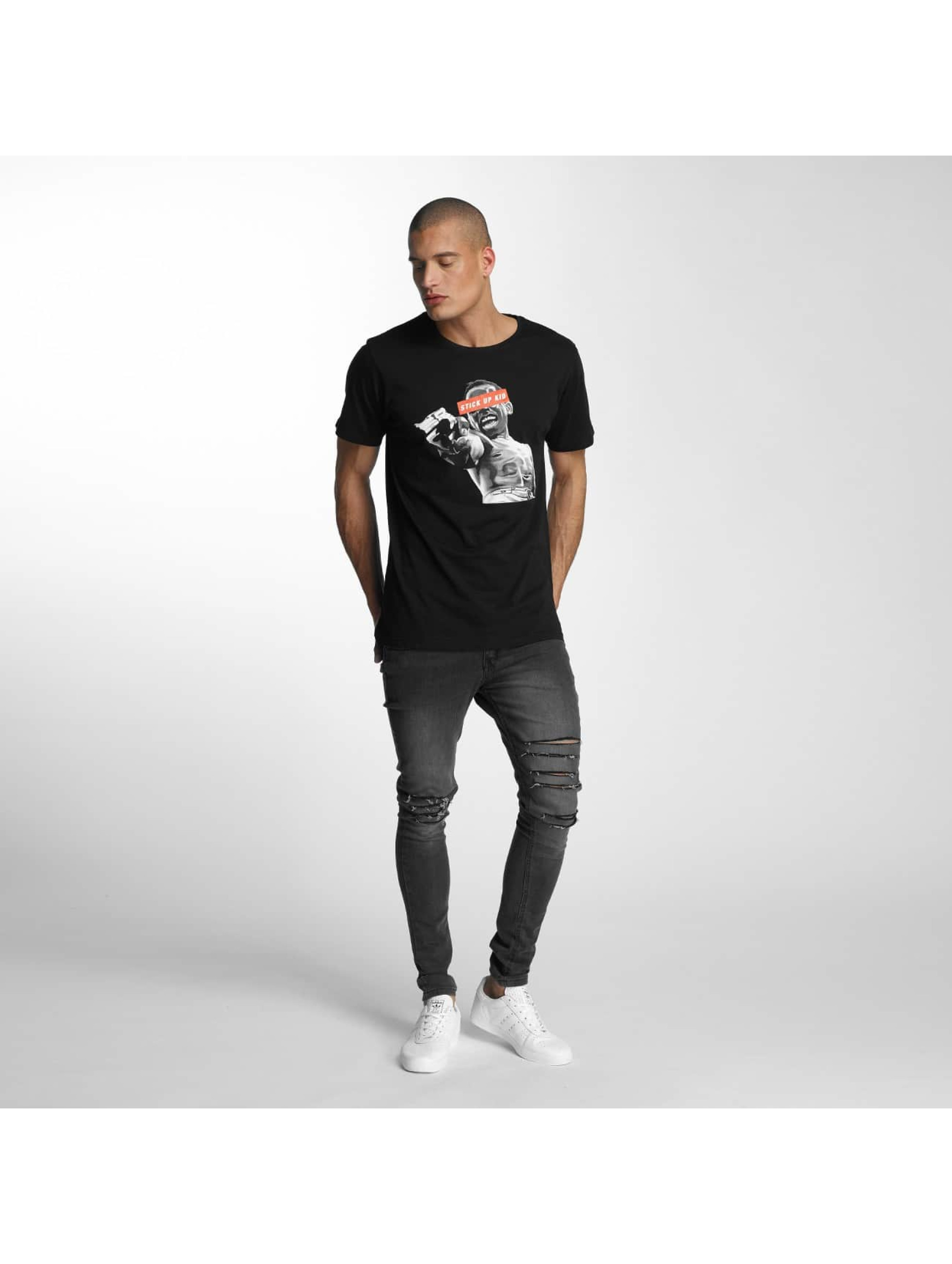 Mister Tee T-Shirt Stick Up Kid noir