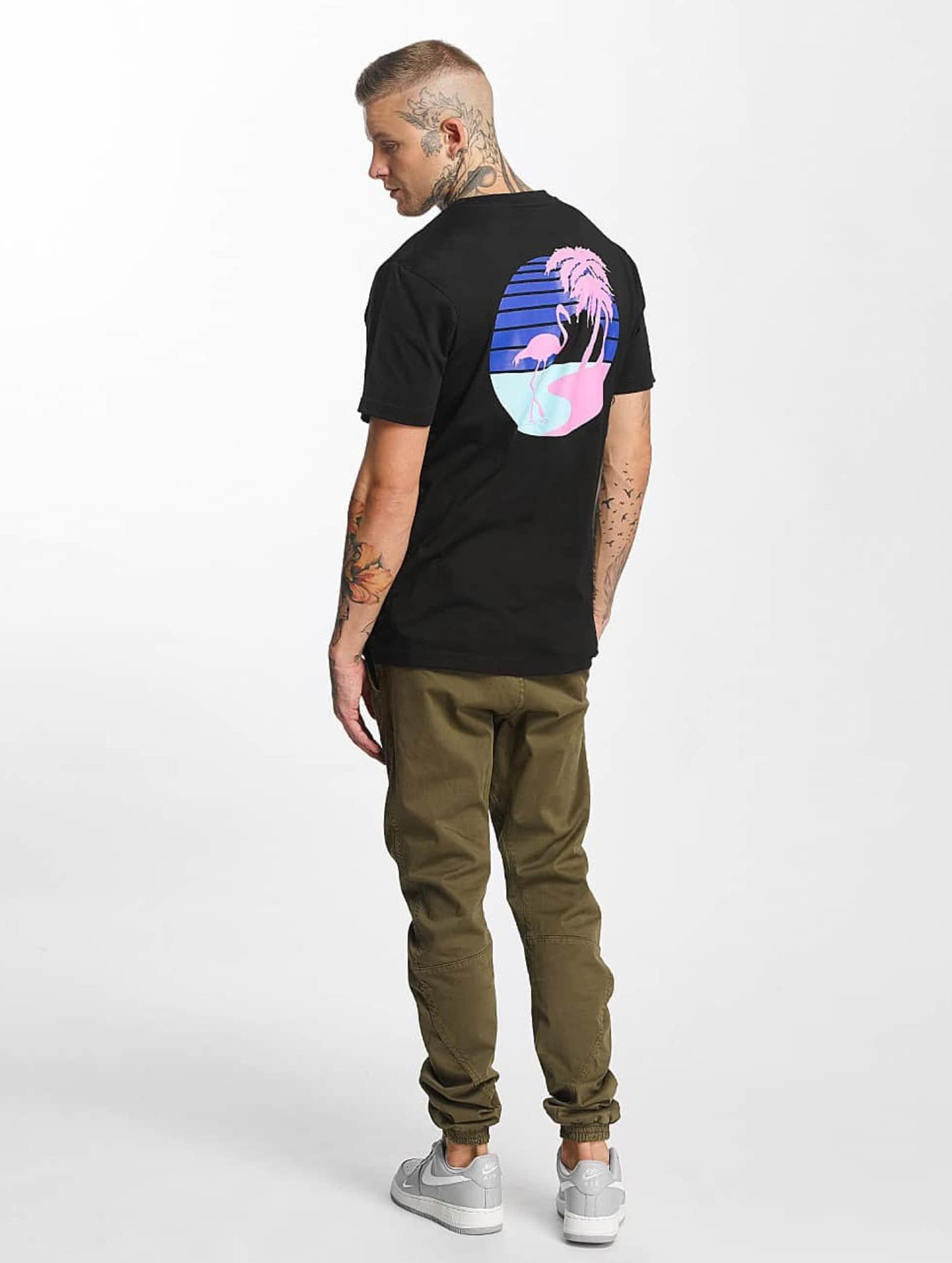 Mister Tee T-Shirt South Beach noir