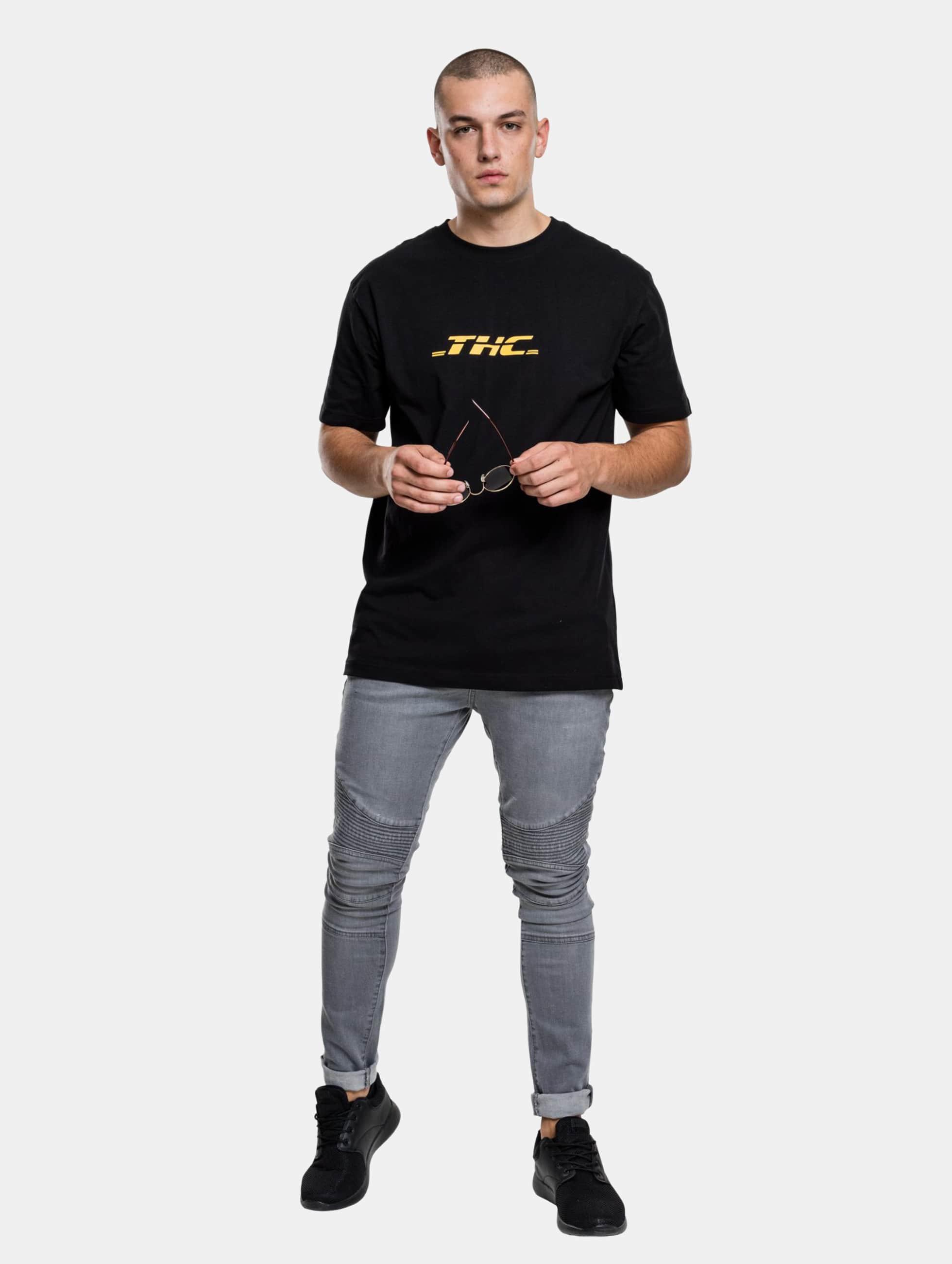 Mister Tee T-Shirt THC noir