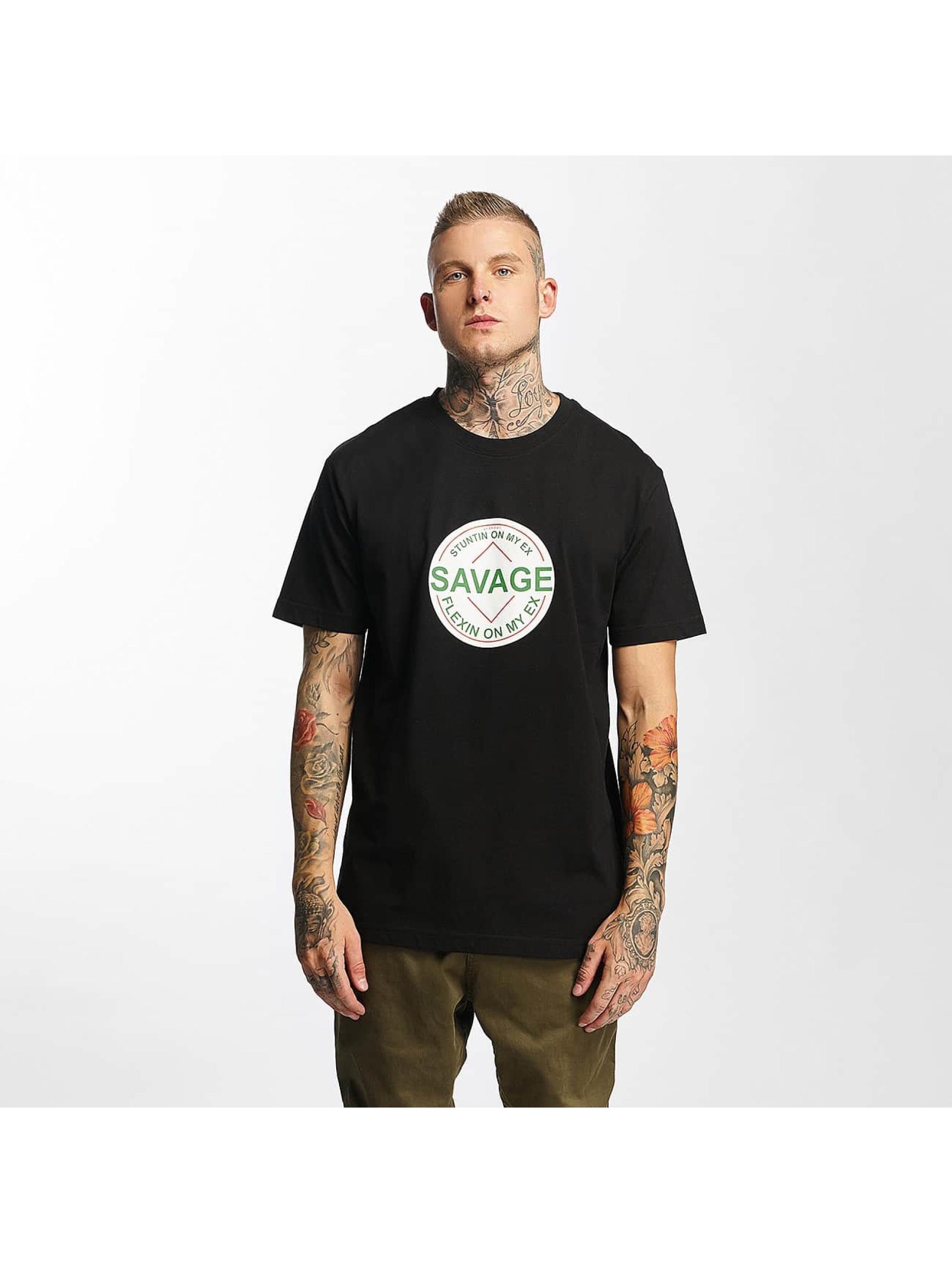 Mister Tee T-Shirt Savage noir