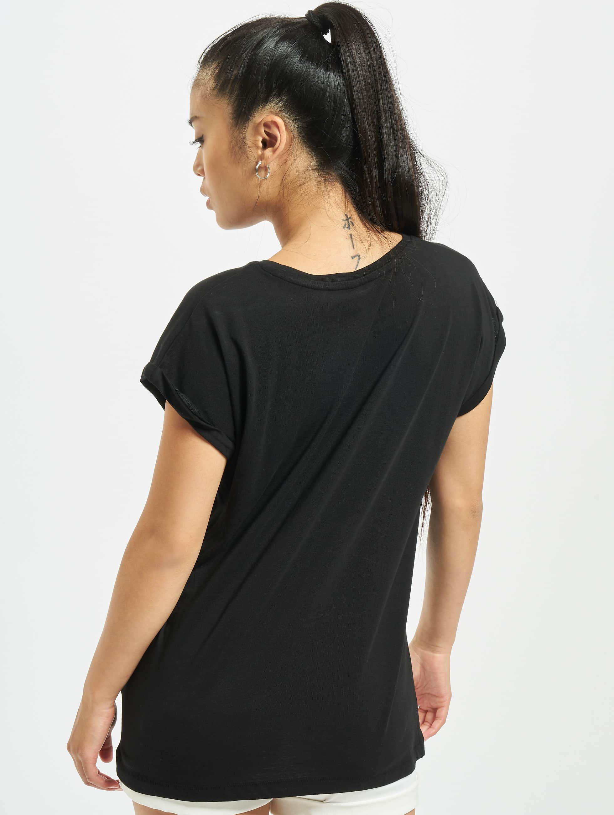 Mister Tee T-Shirt GRL PWR noir