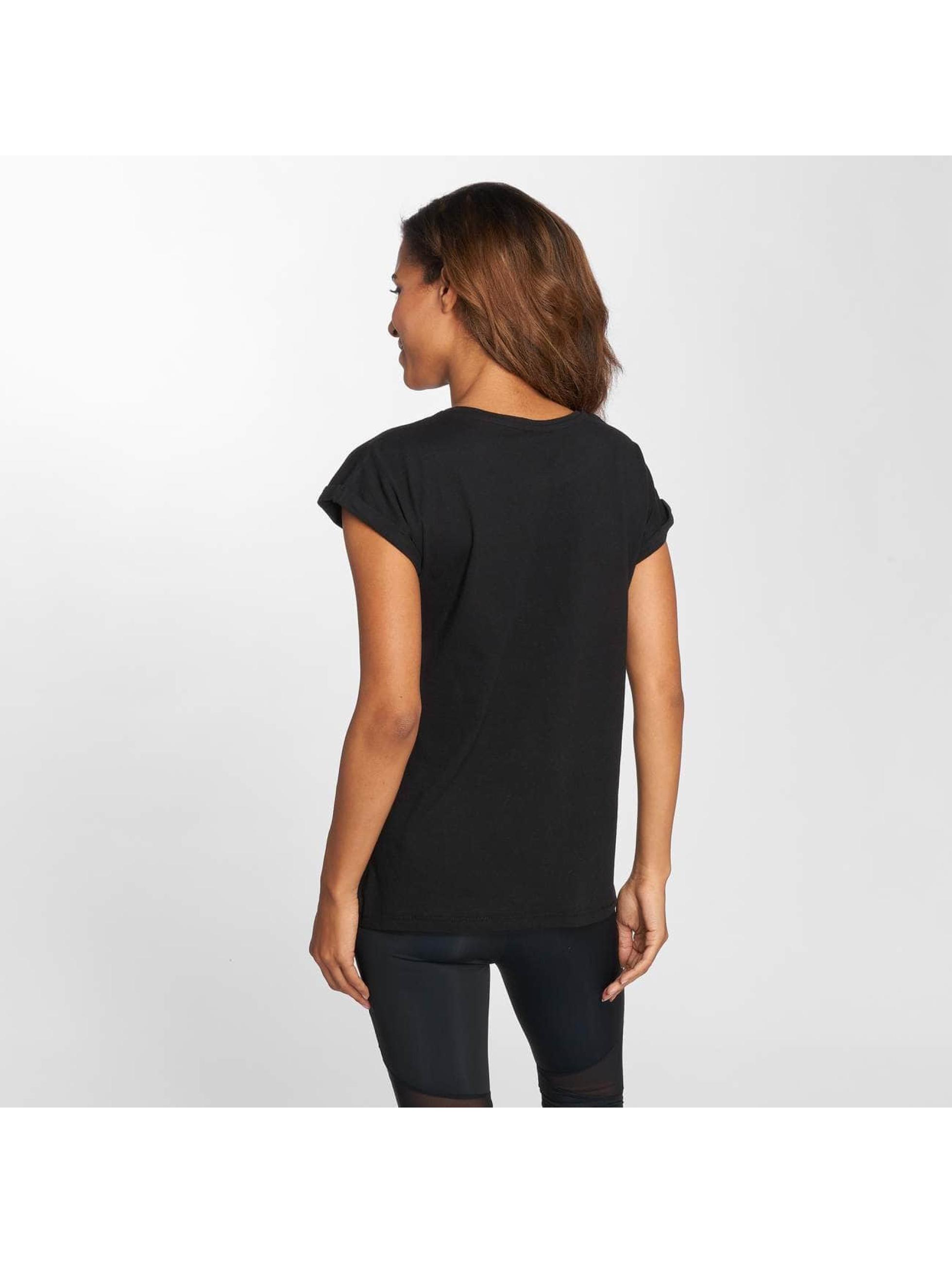 Mister Tee T-Shirt Flames noir