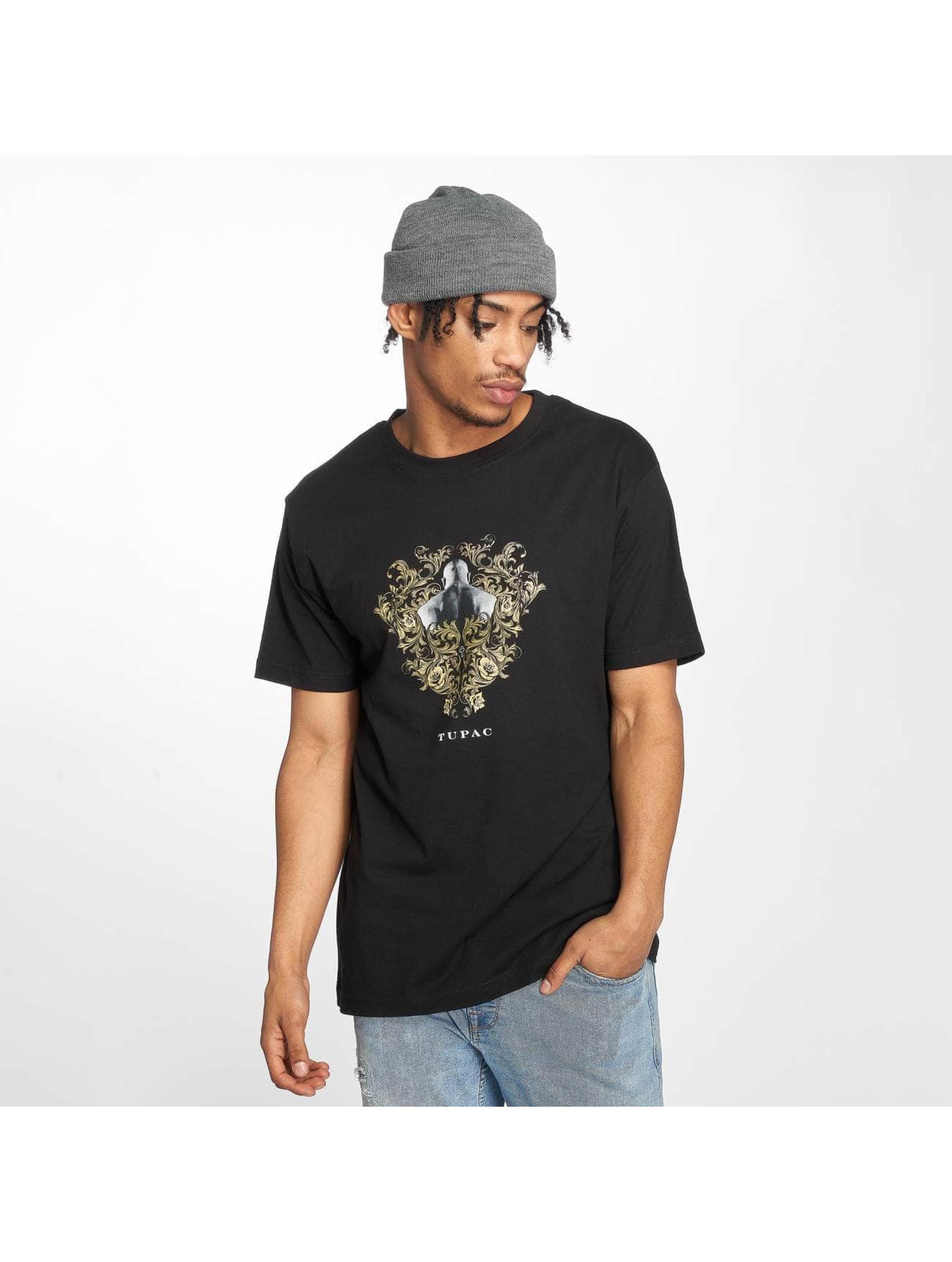 Mister Tee T-Shirt Tupac Ornaments noir