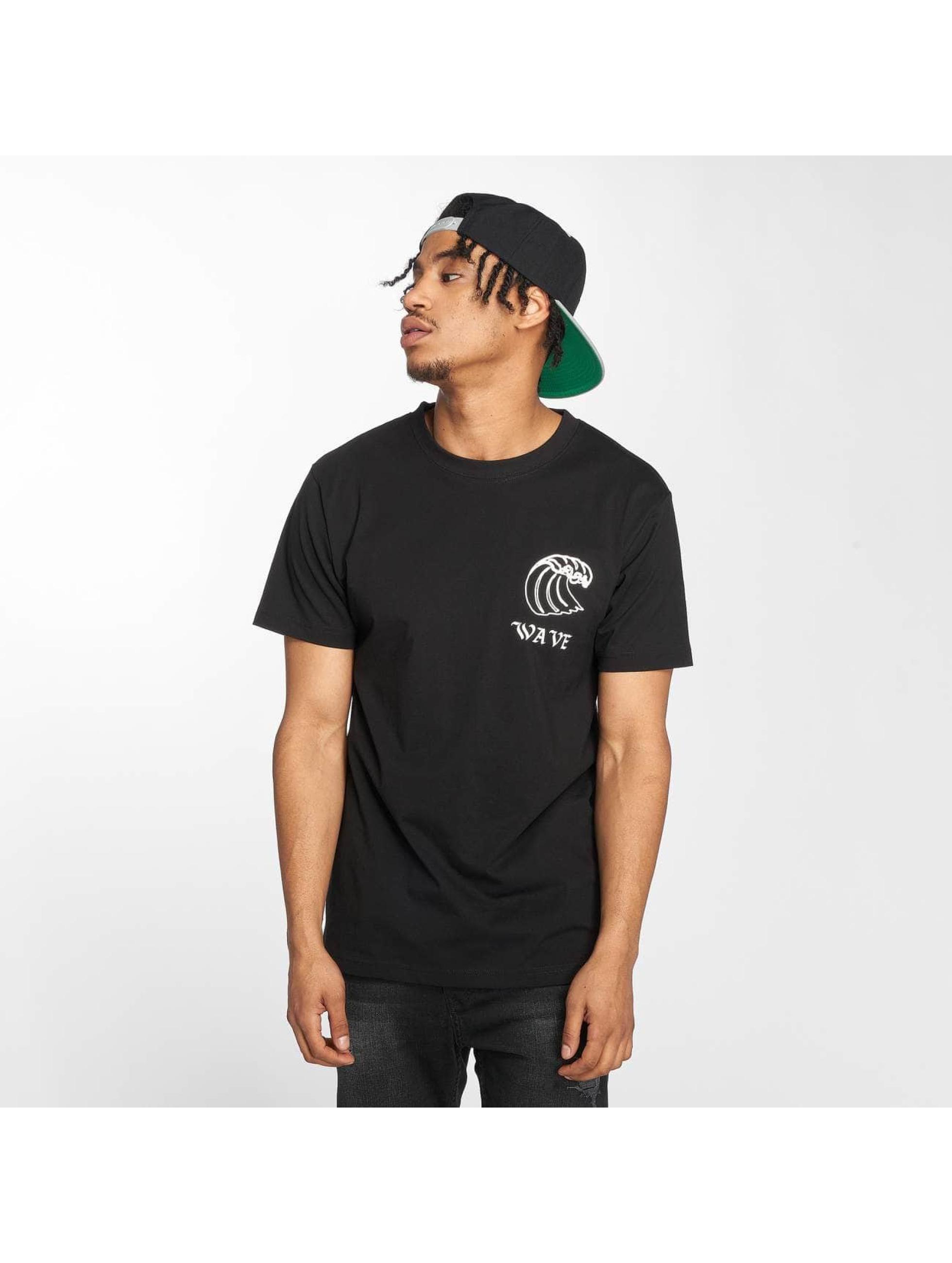 Mister Tee T-Shirt Wave noir