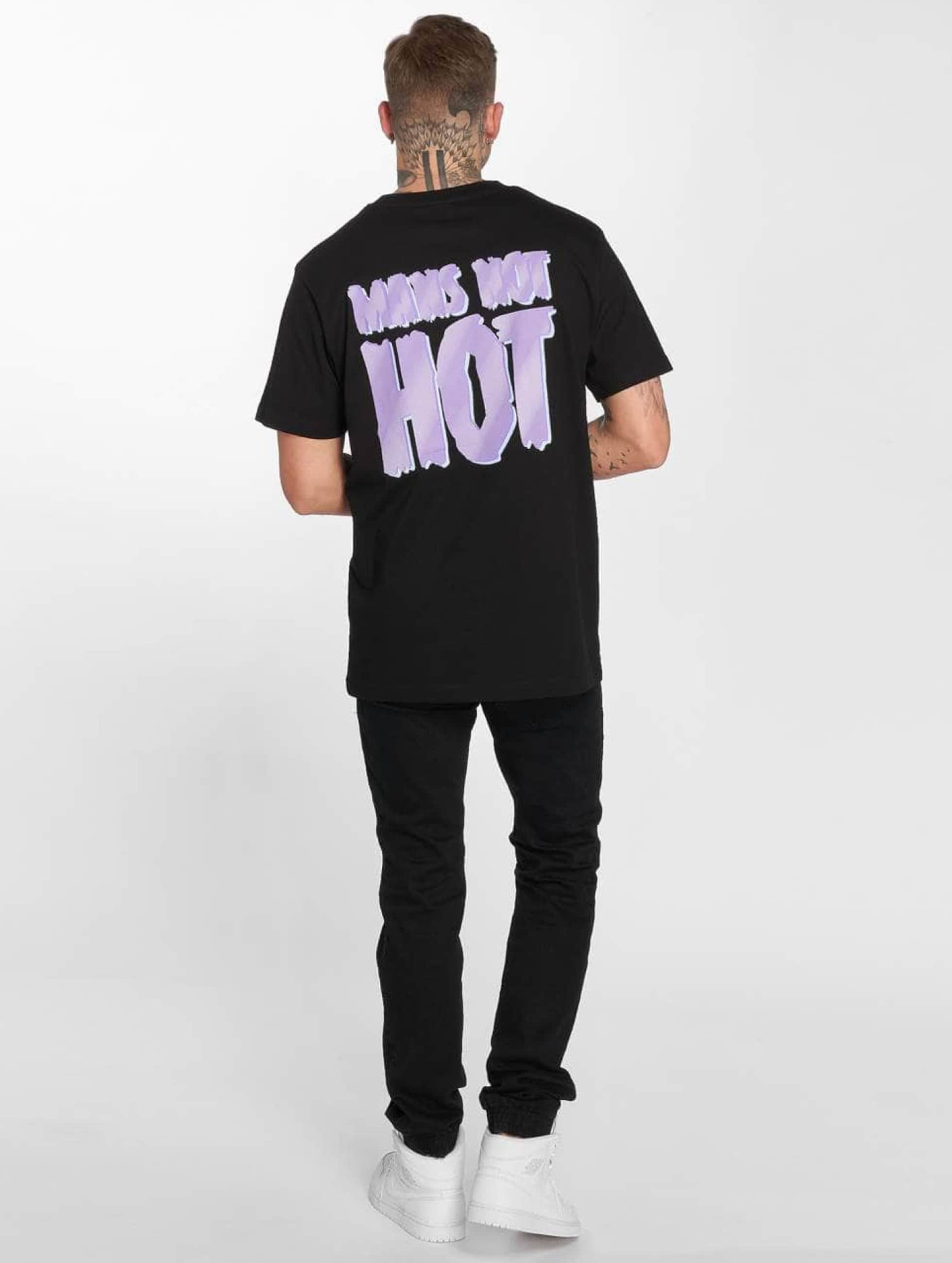 Mister Tee T-Shirt Mans Not Hot noir