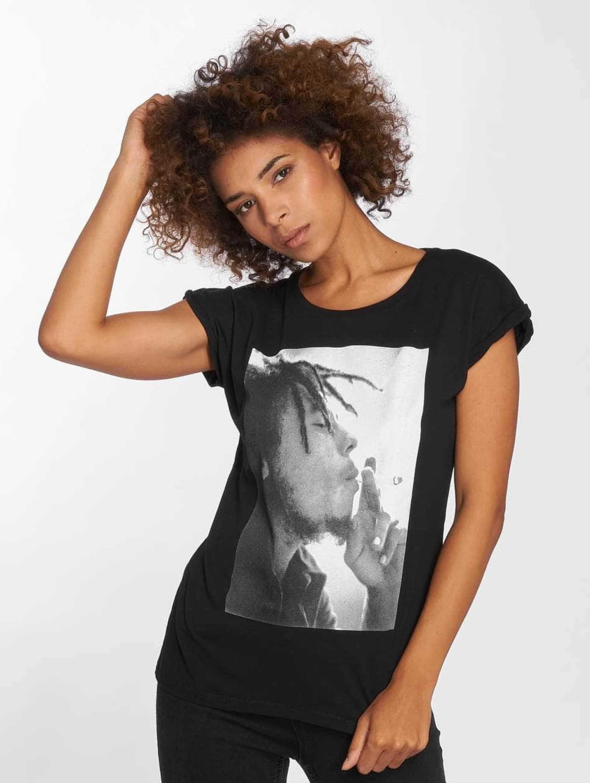 Mister Tee T-Shirt Bob Marley noir