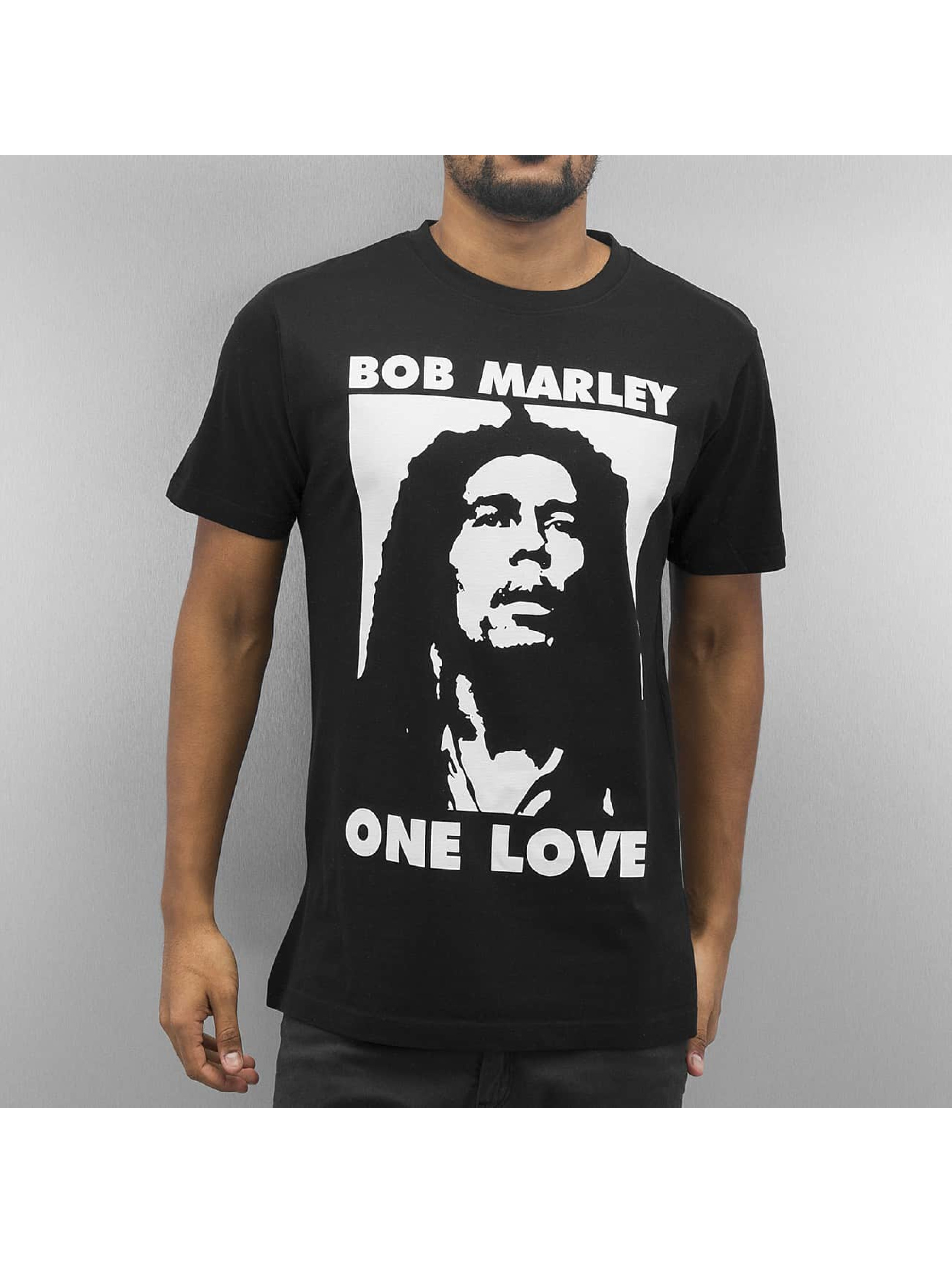 Mister Tee T-Shirt Bob One Love schwarz