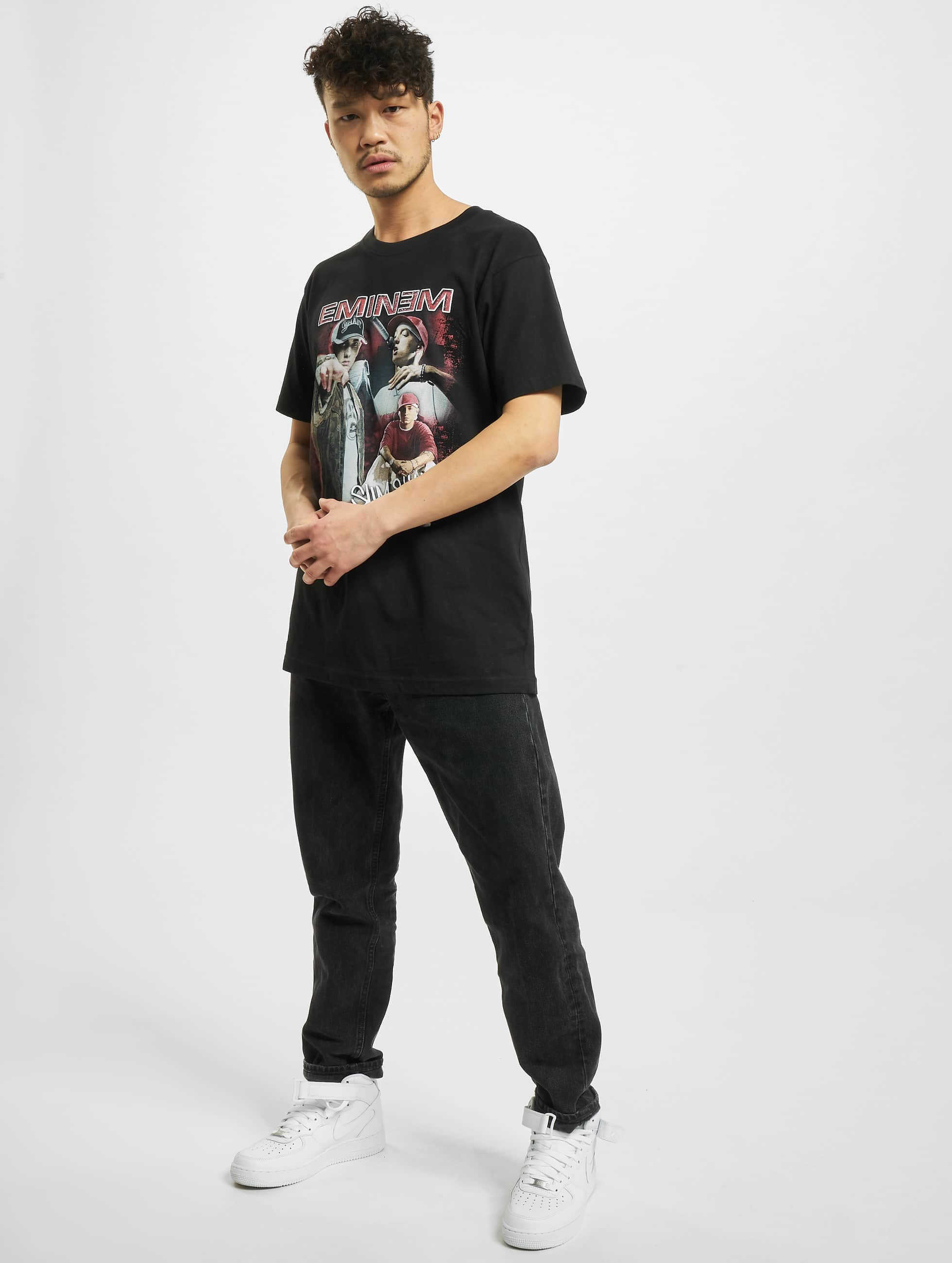 Mister Tee T-Shirt Eminem Slim Shady schwarz