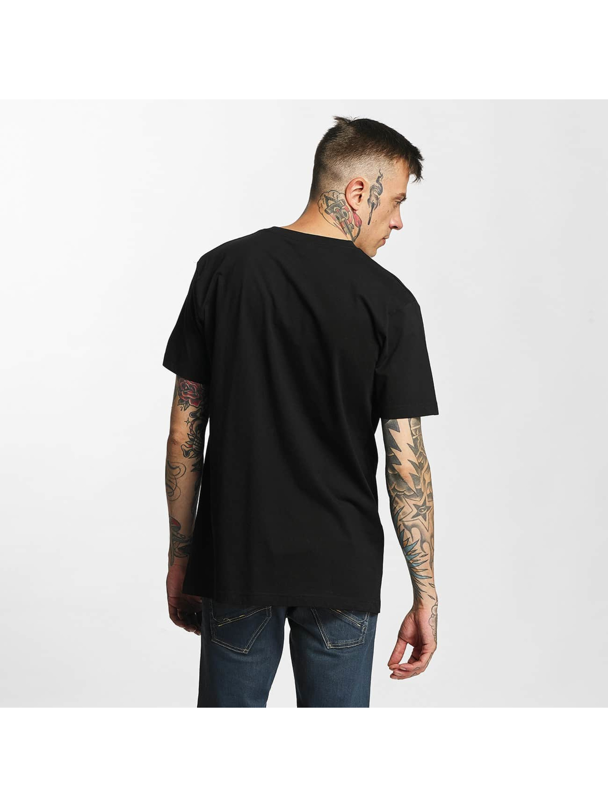 Mister Tee T-Shirt LA Rose schwarz