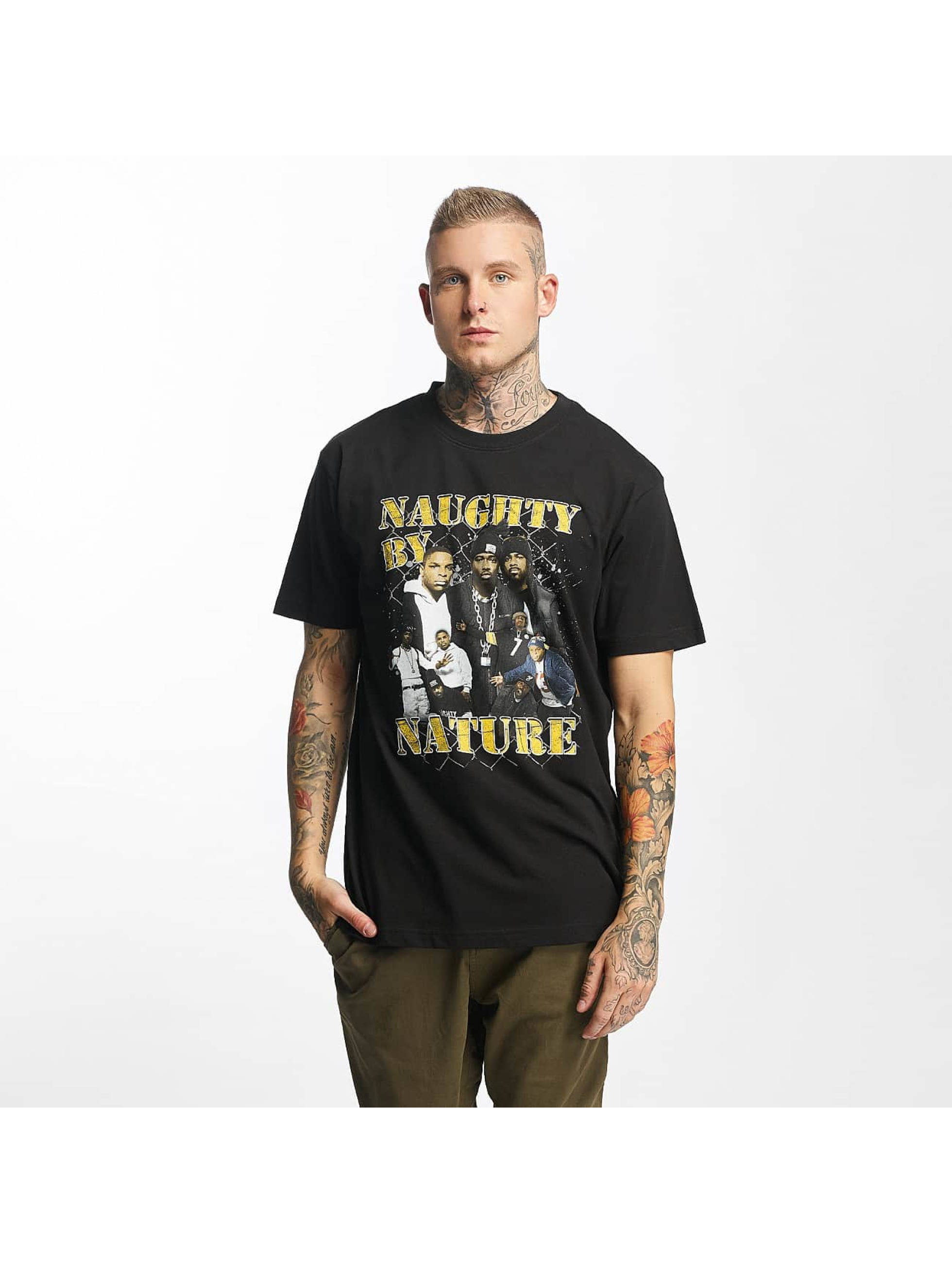 Mister Tee T-Shirt Naughty by Nature 90s schwarz