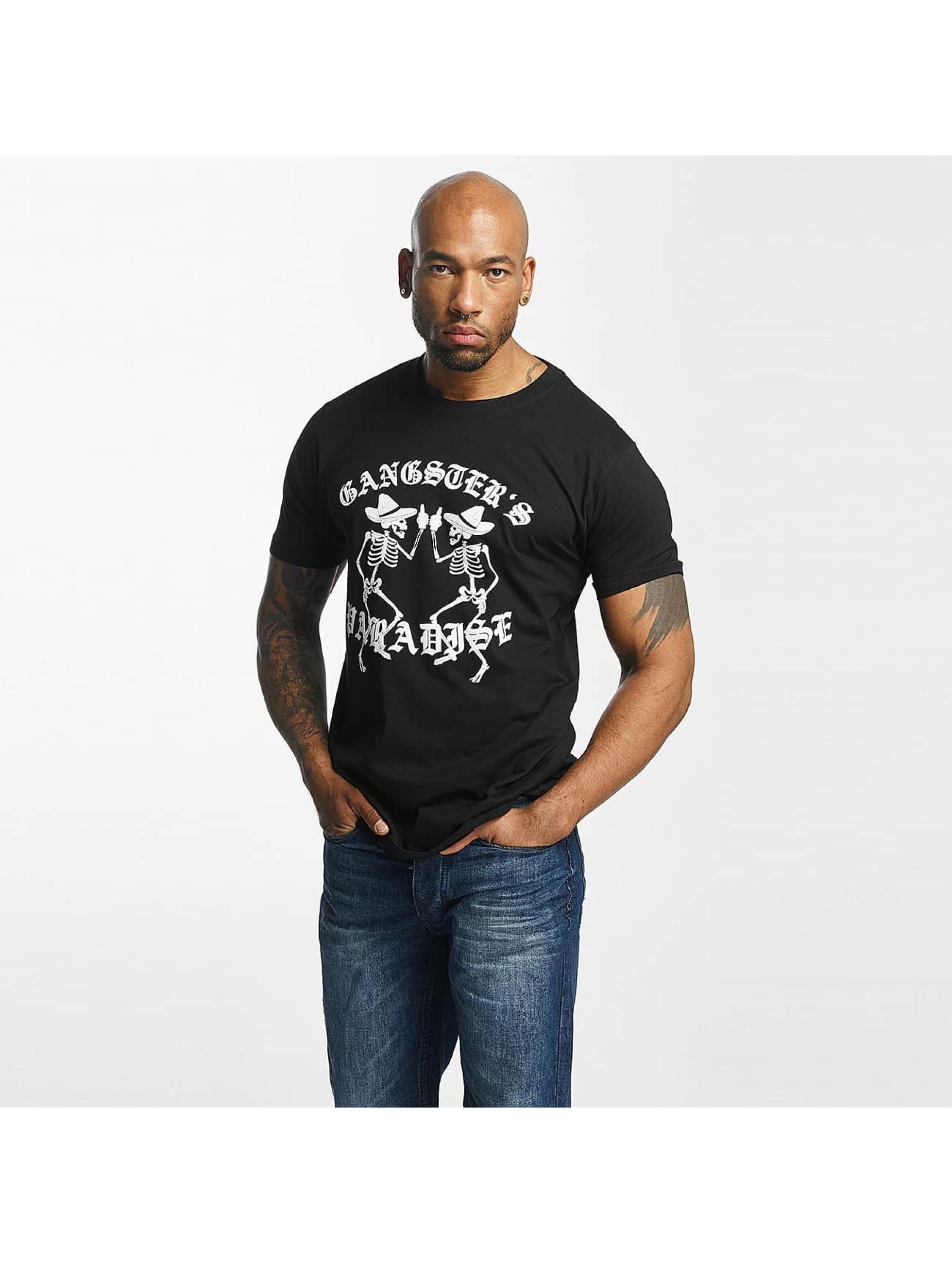 Mister Tee T-Shirt Gangster`s Paradise schwarz