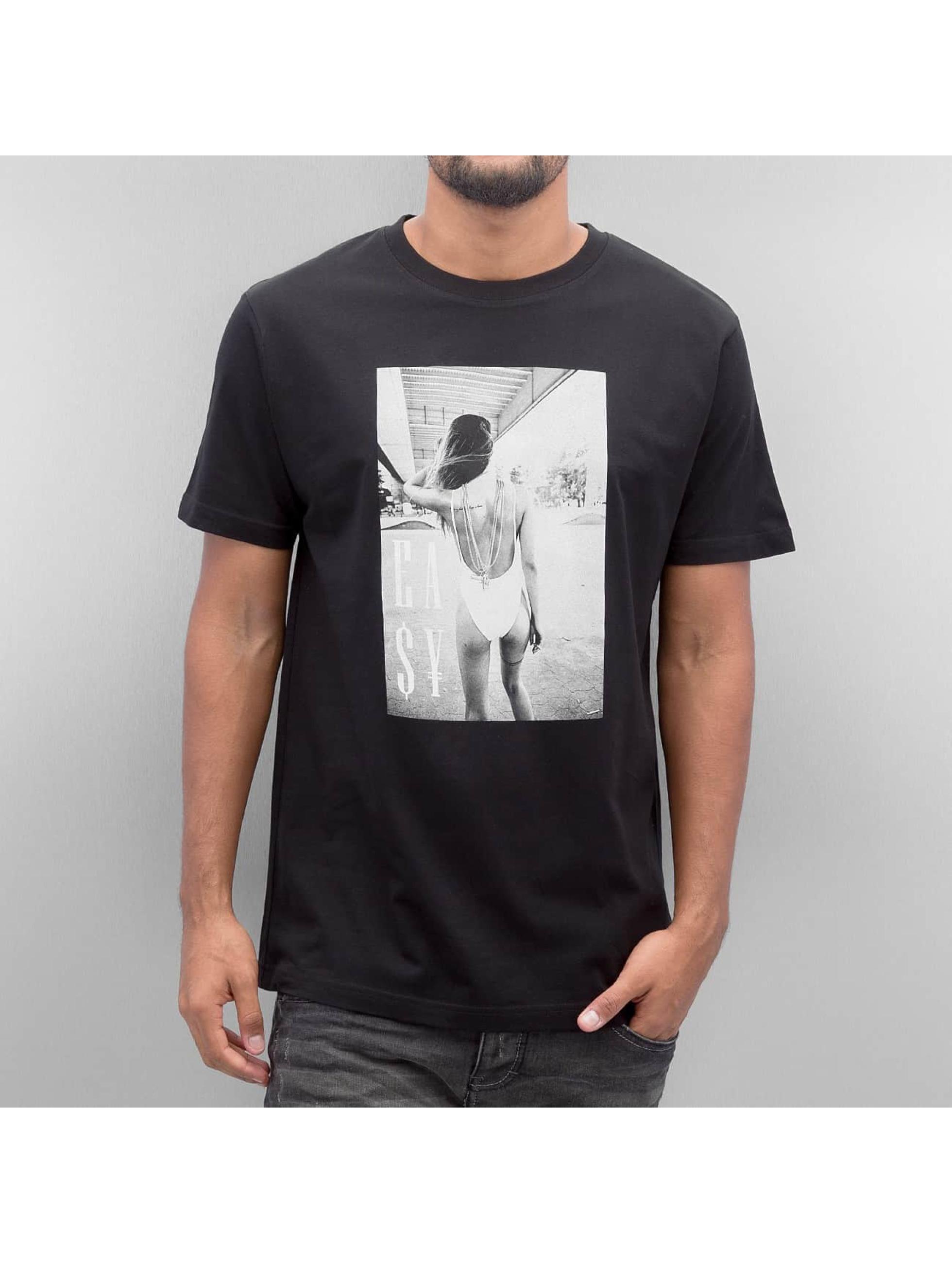 Mister Tee T-shirt Easy Livin svart