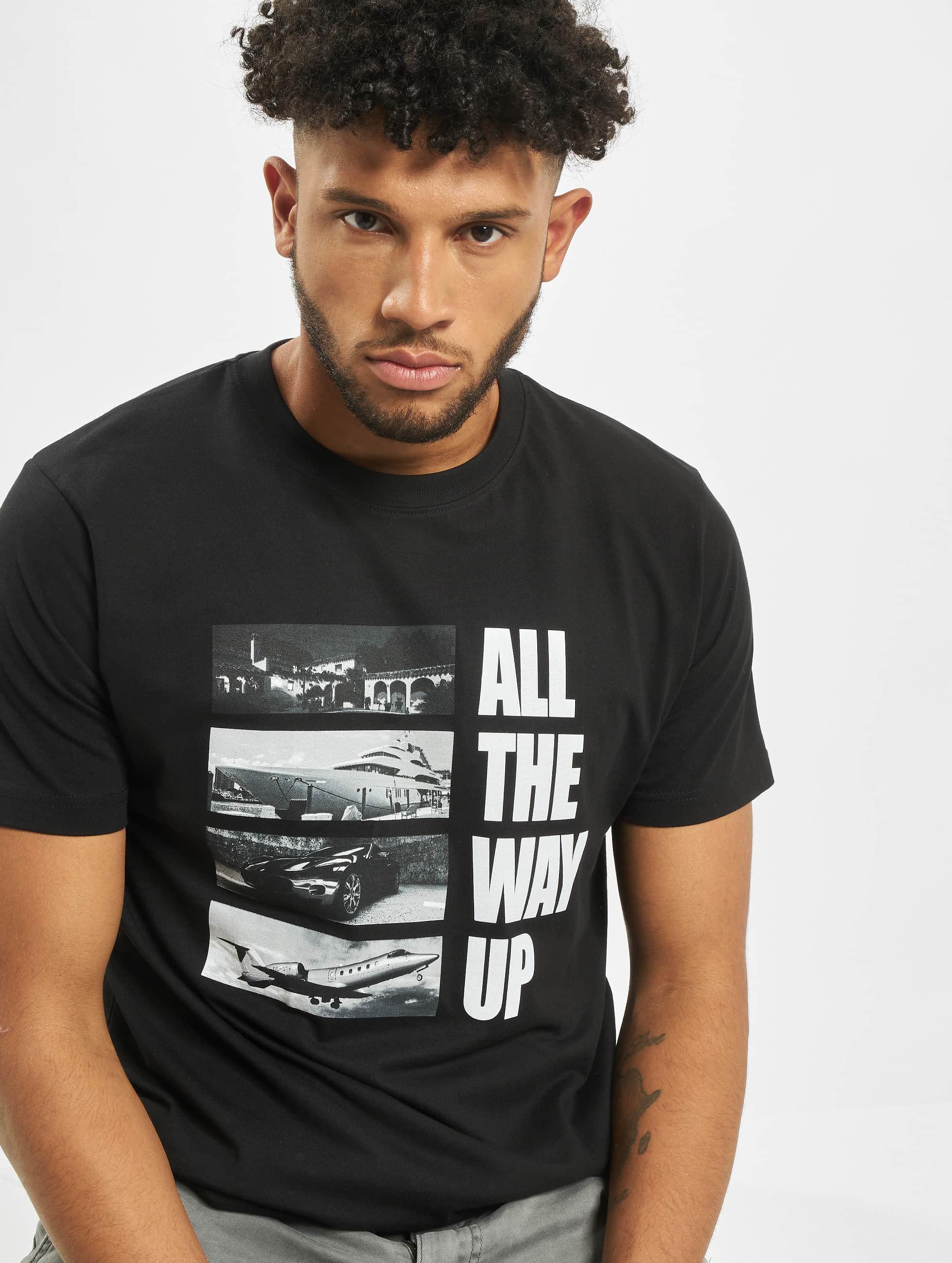 Mister Tee T-shirt All The Way Up Stairway svart