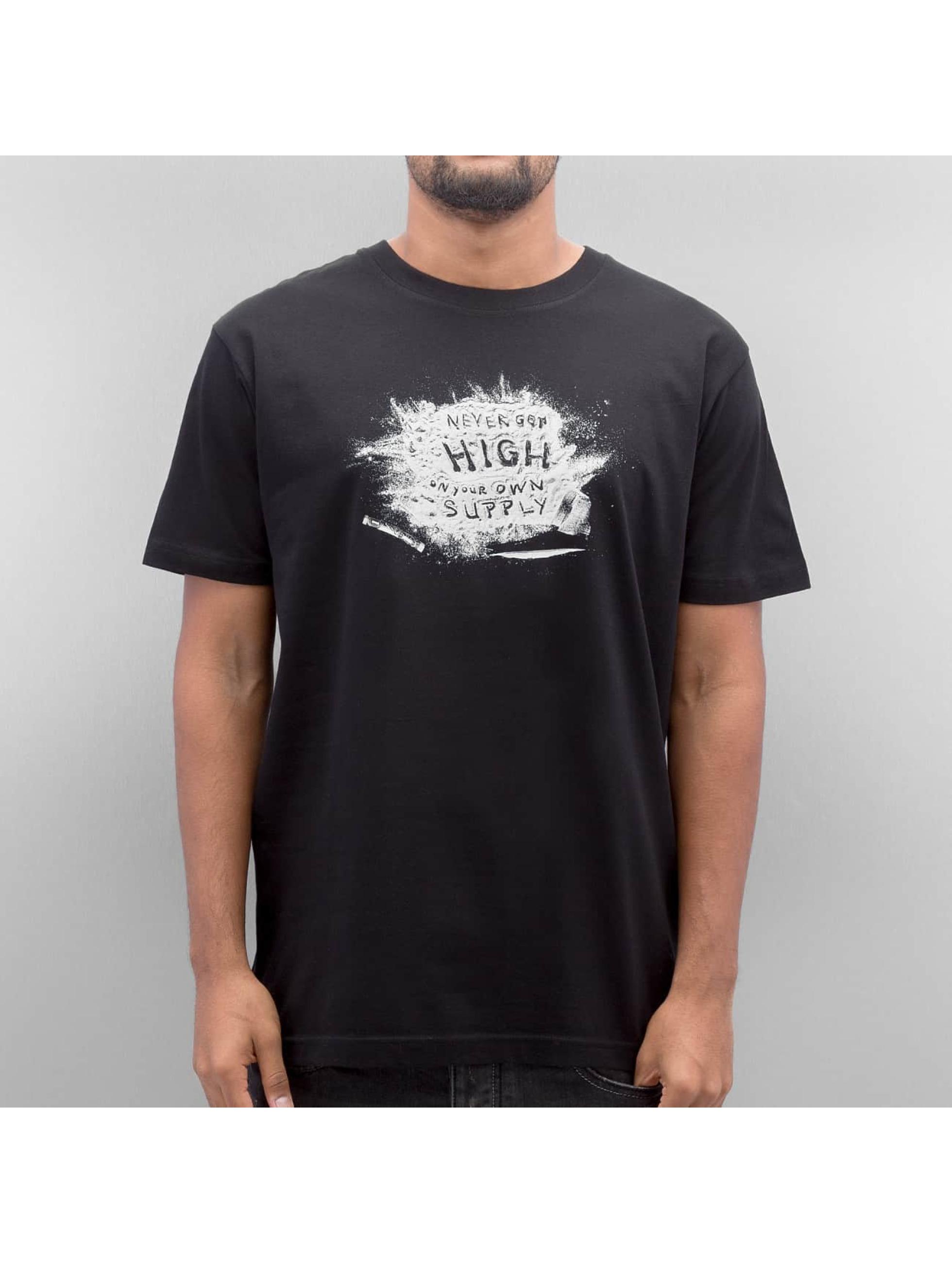 Mister Tee T-shirt Powder svart