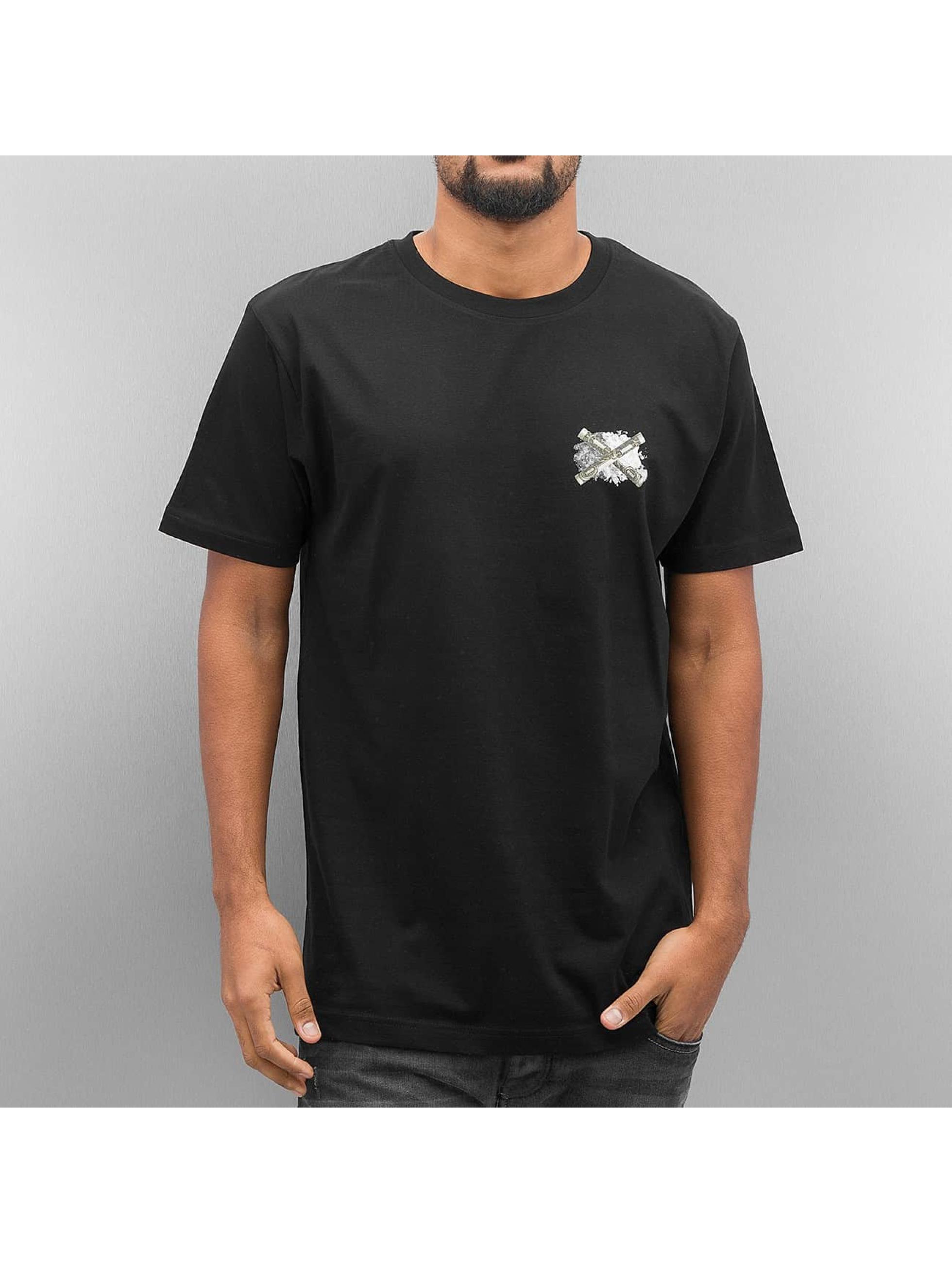 Mister Tee T-shirt Never Get High svart