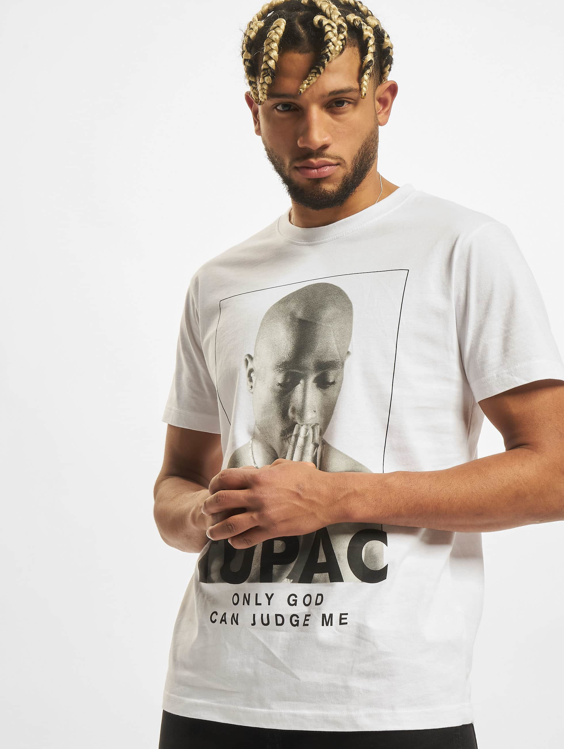 Mister Tee T-shirt 2Pac Prayer vit