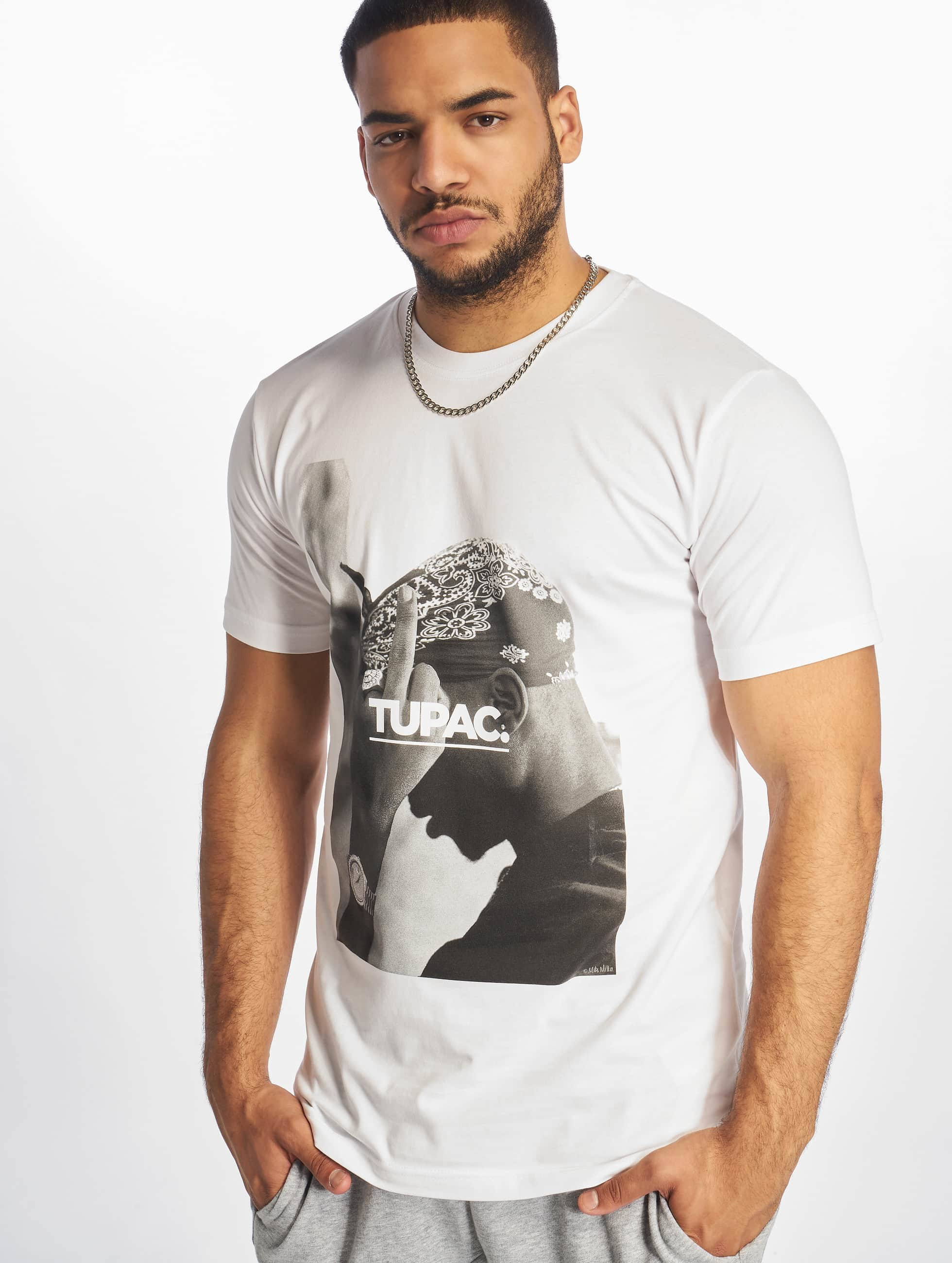 Mister Tee T-Shirt 2Pac F*ck The World weiß