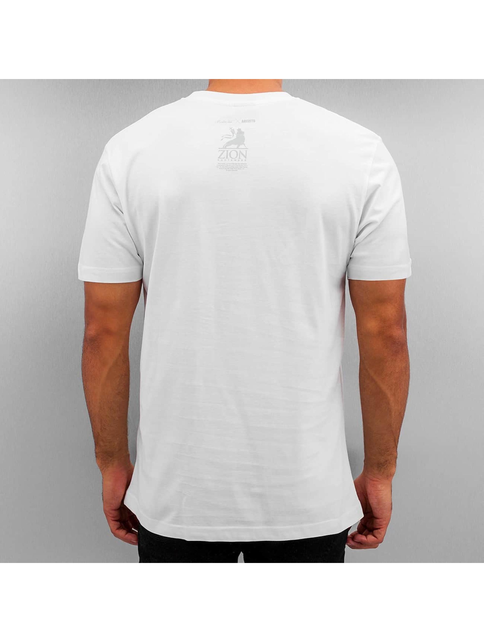 Mister Tee T-Shirt Bob Soccern weiß
