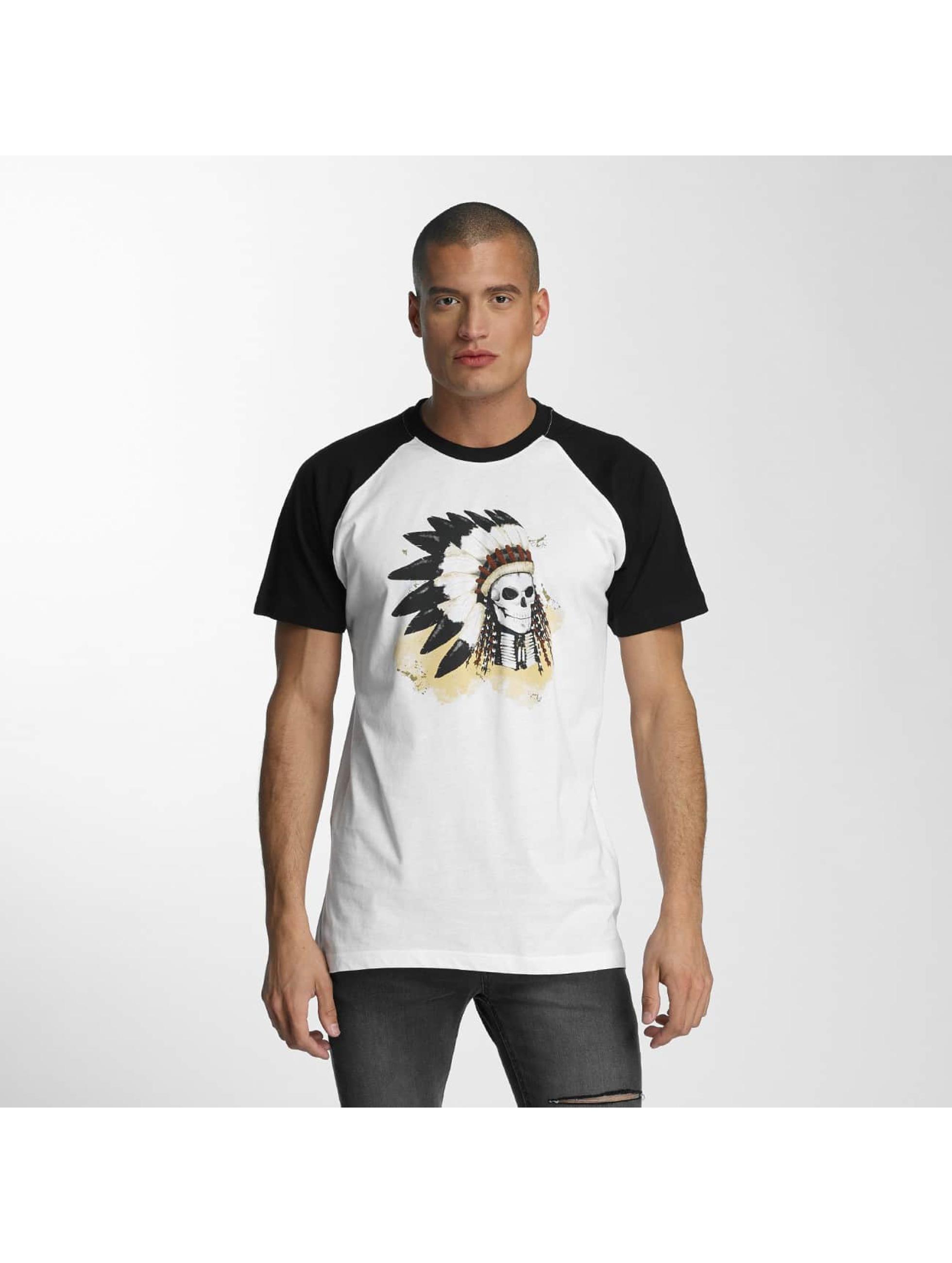 Mister Tee T-Shirt Dead Indian weiß