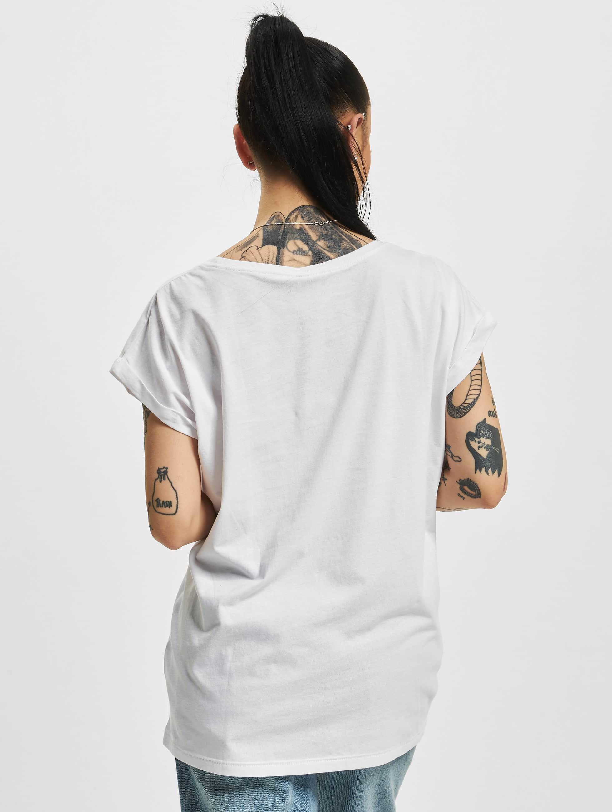 Mister Tee T-Shirt NASA Insignia weiß