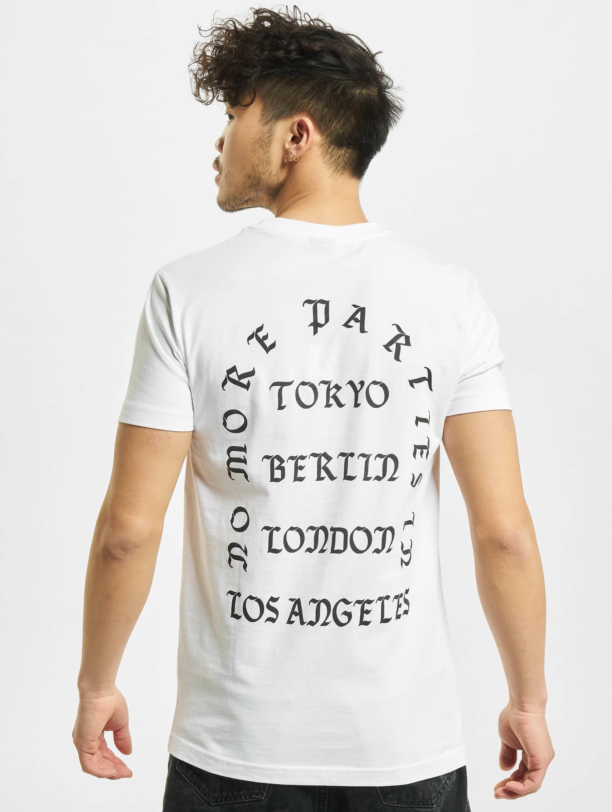 Mister Tee T-Shirt LA weiß