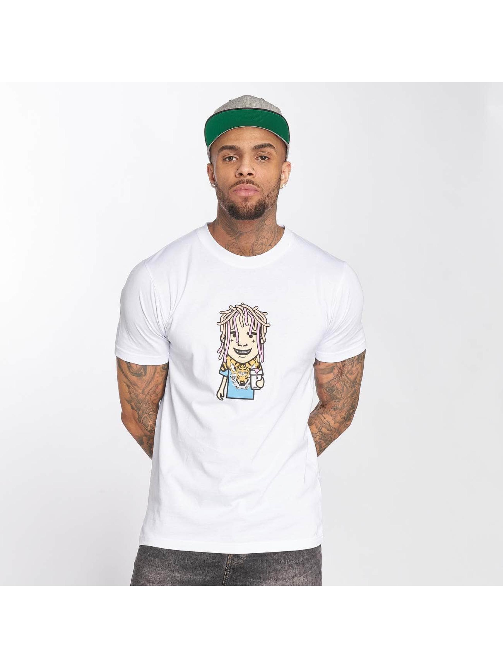 Mister Tee T-Shirt Pump weiß