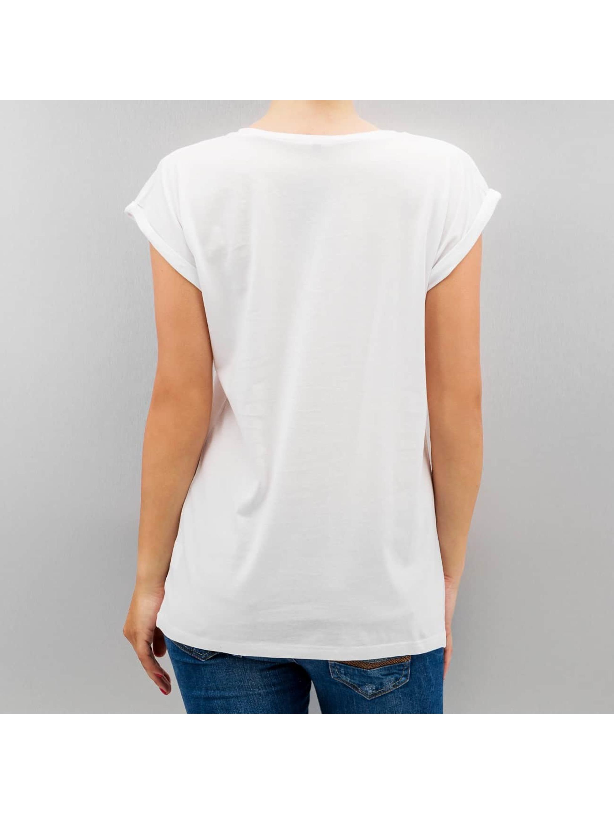 Mister Tee T-Shirt Ladies Cheap Thrills white