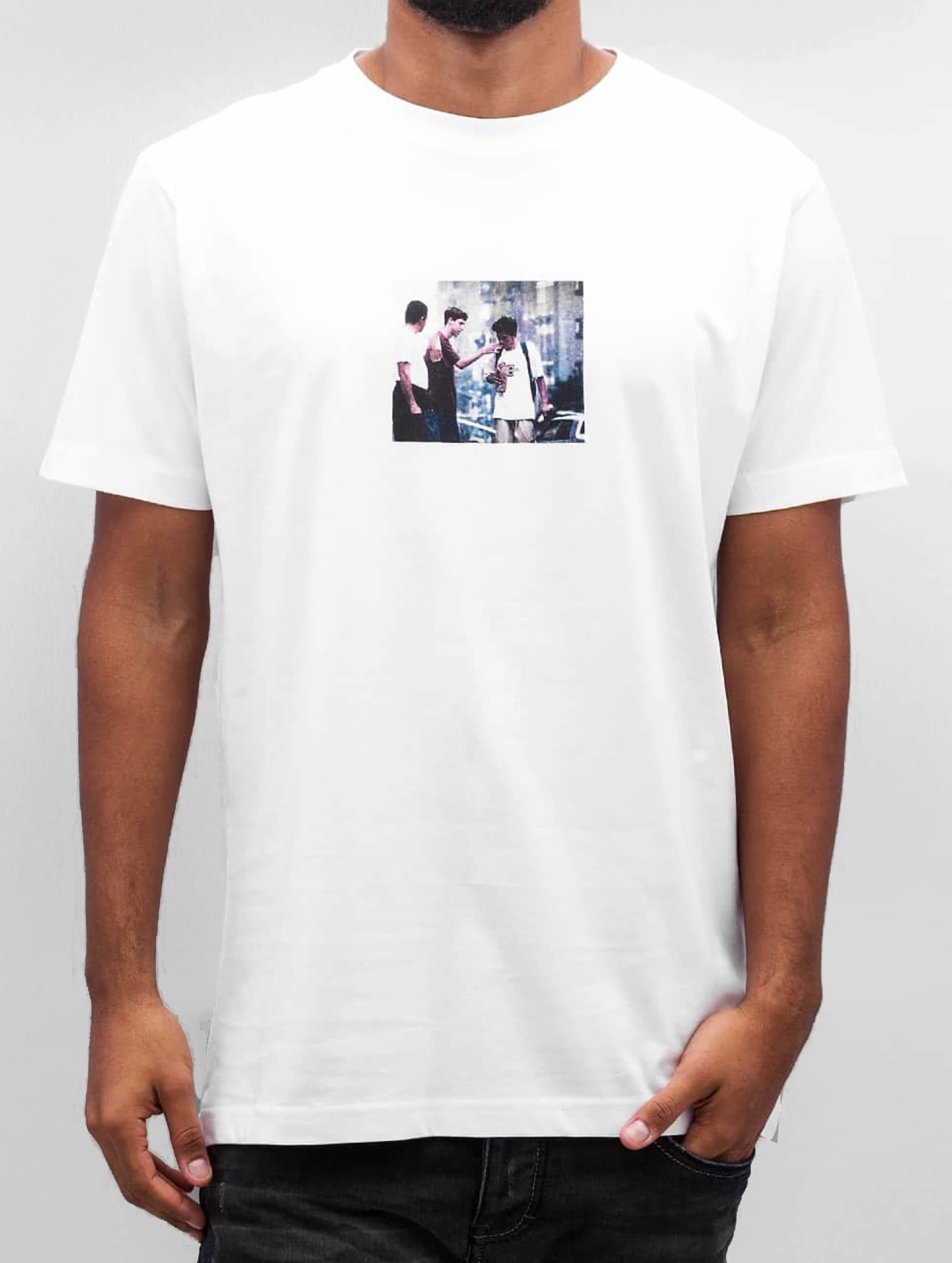 Mister Tee T-Shirt Peanutbutter white