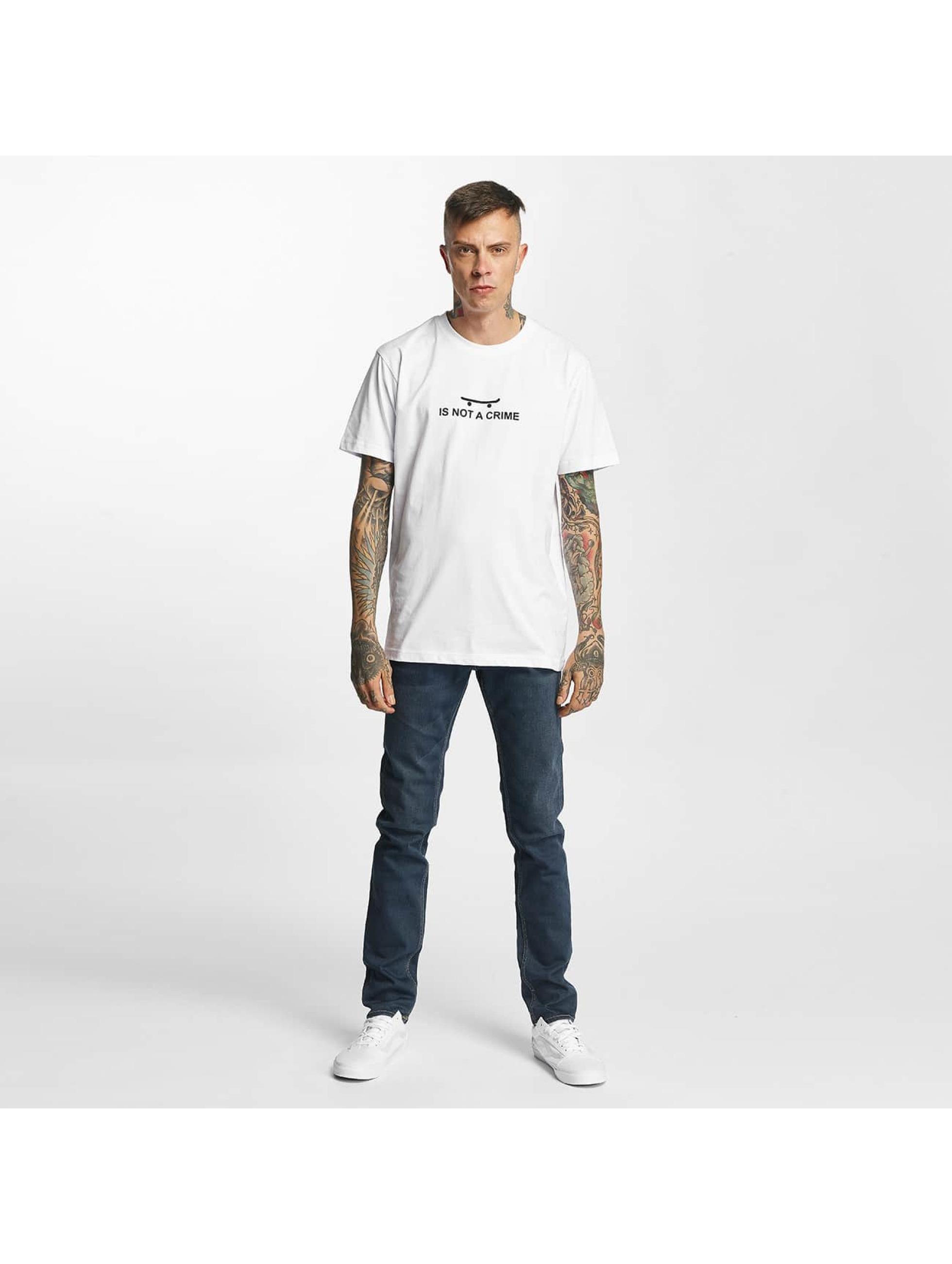 Mister Tee T-Shirt Not A Crime white