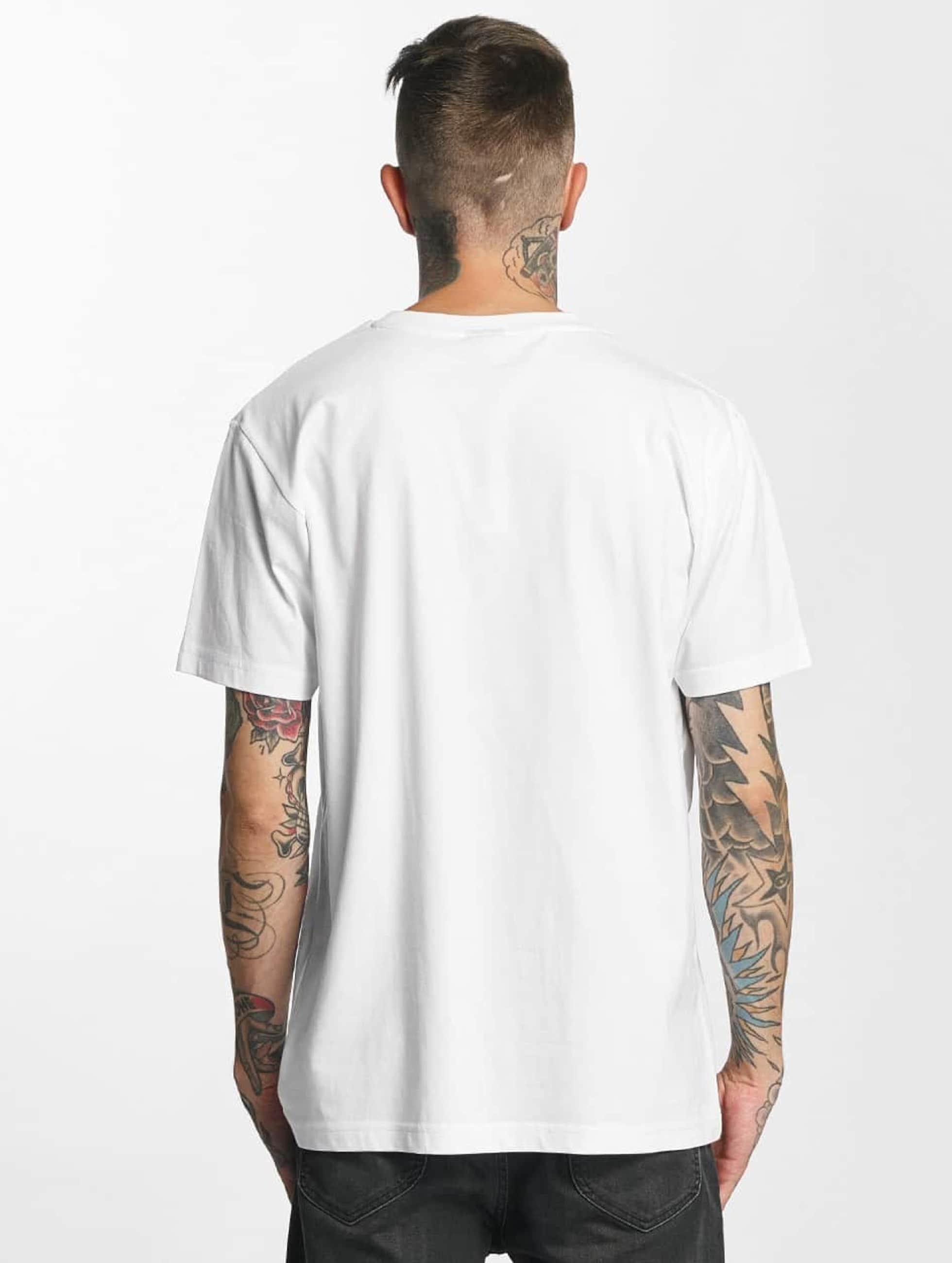 Mister Tee T-Shirt Flamingo white