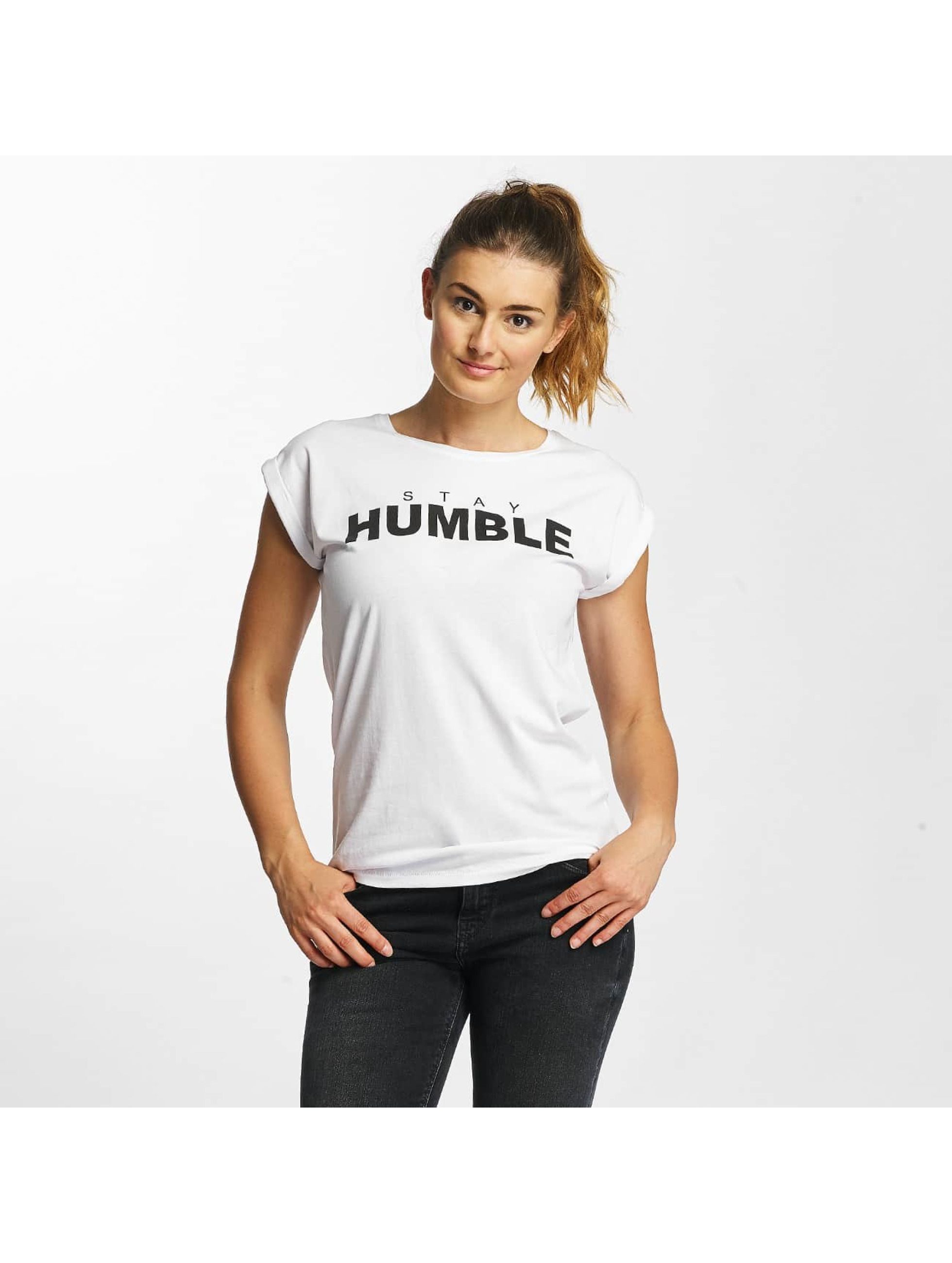 Mister Tee T-Shirt Stay Humble white