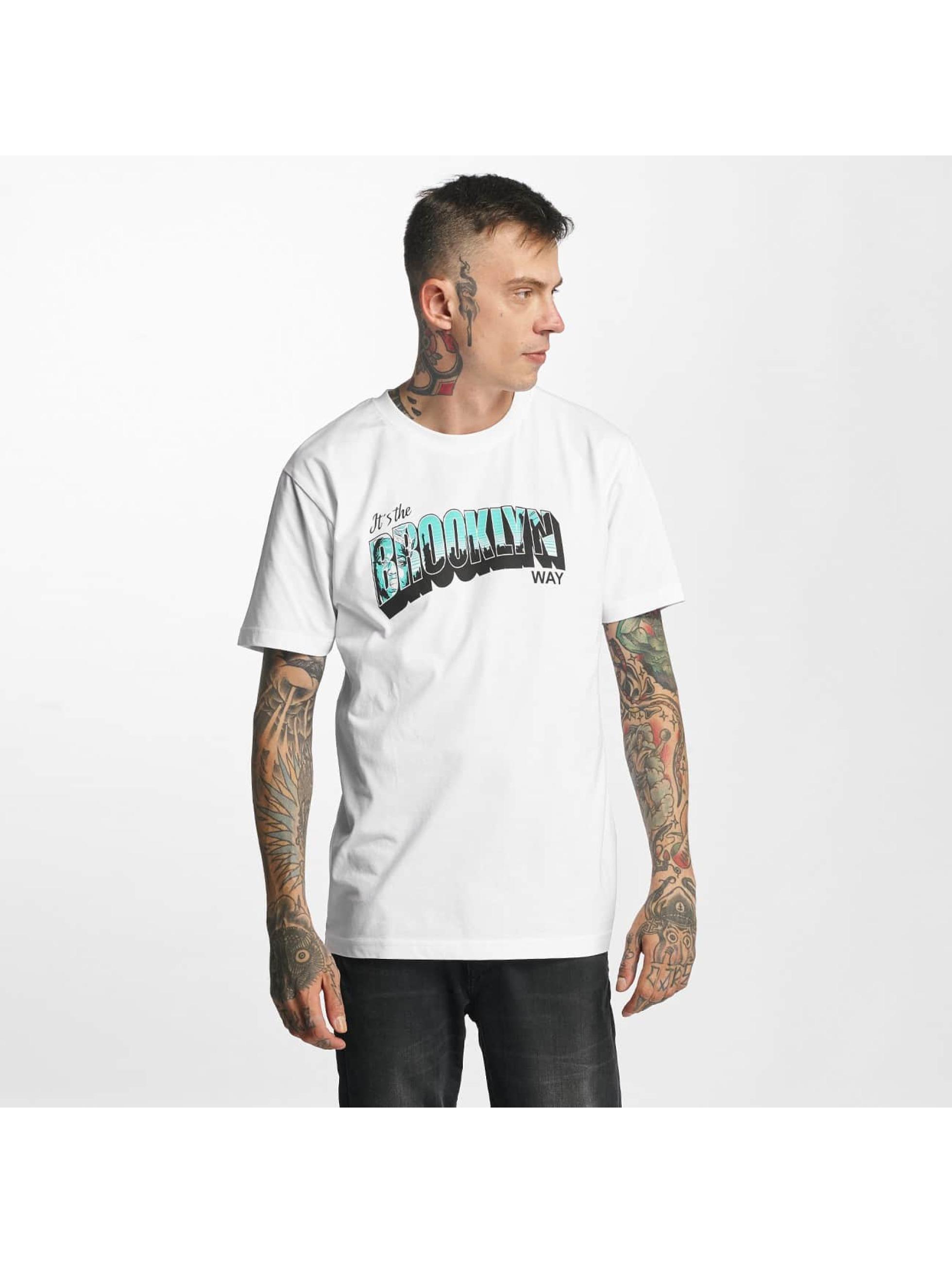 Mister Tee t-shirt Brooklyn Way wit
