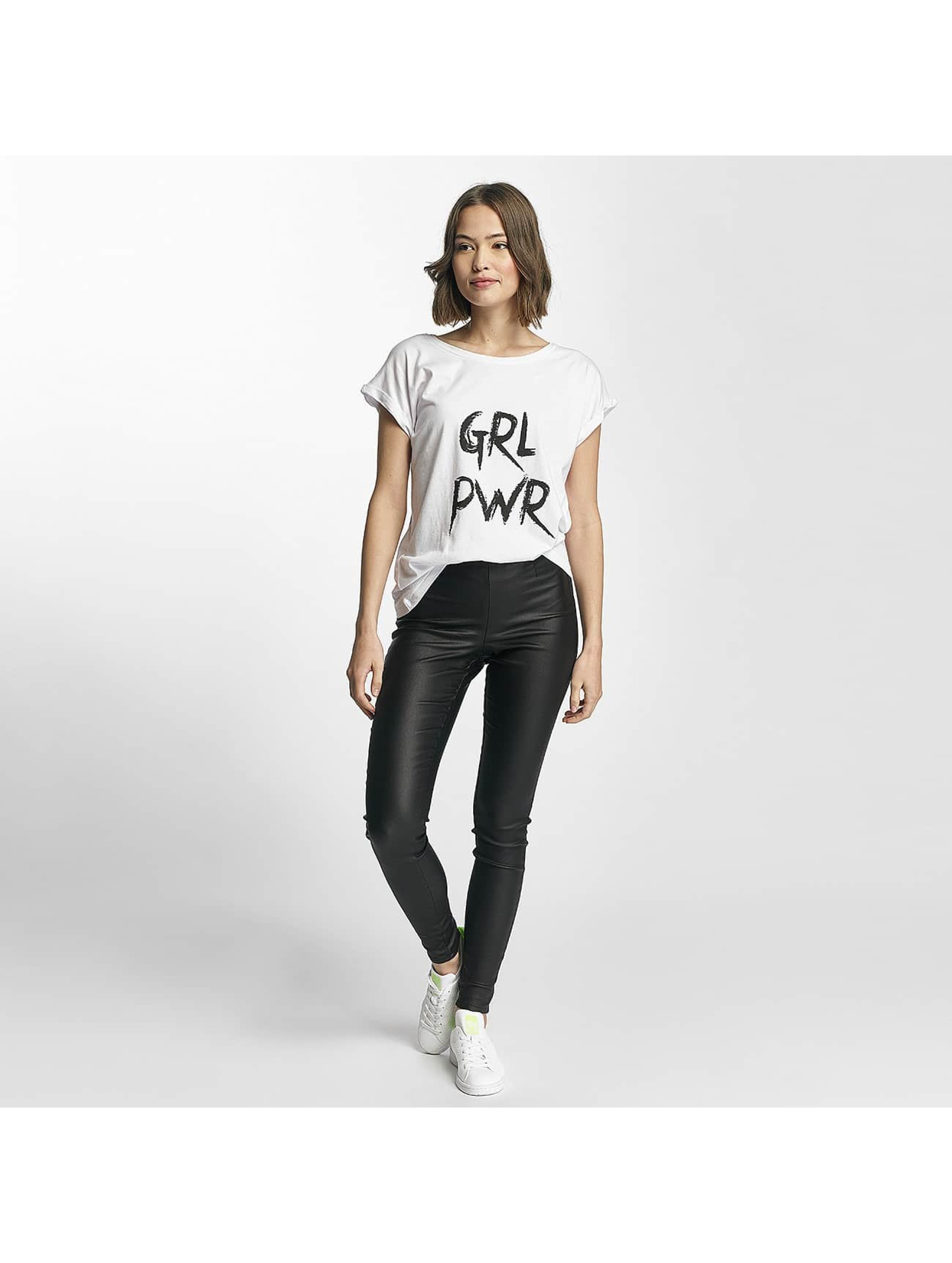 Mister Tee t-shirt GRL PWR wit