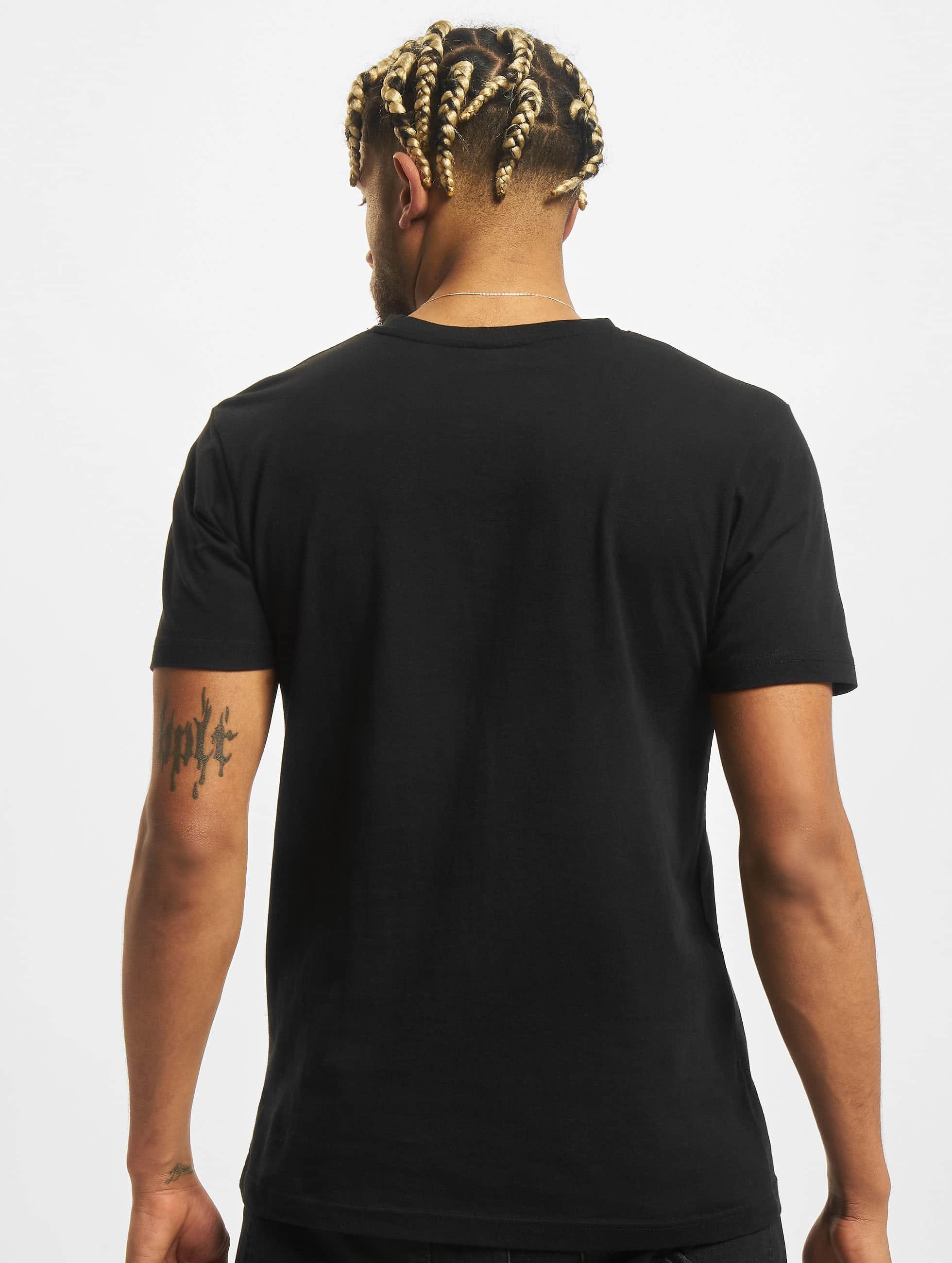 Mister Tee t-shirt Twenty One Pilots Pattern Circles zwart