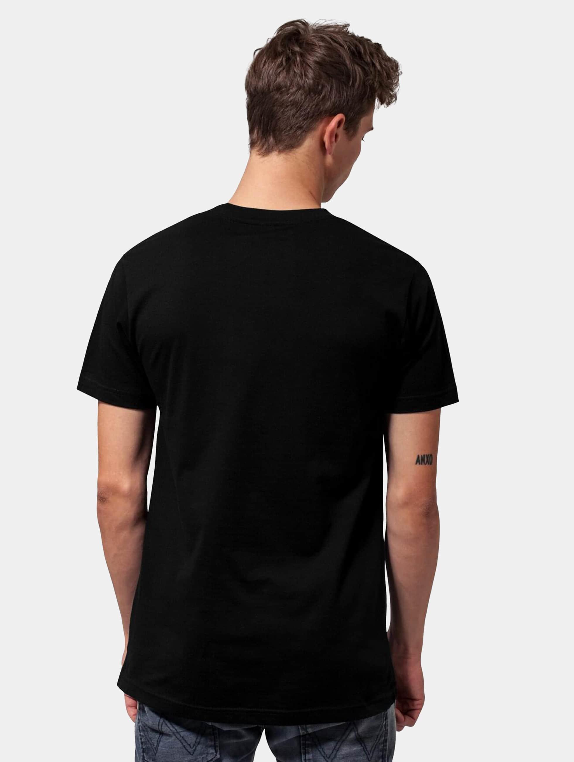 Mister Tee t-shirt Pink Floyd Dark Side Of The Moon Tour Program zwart