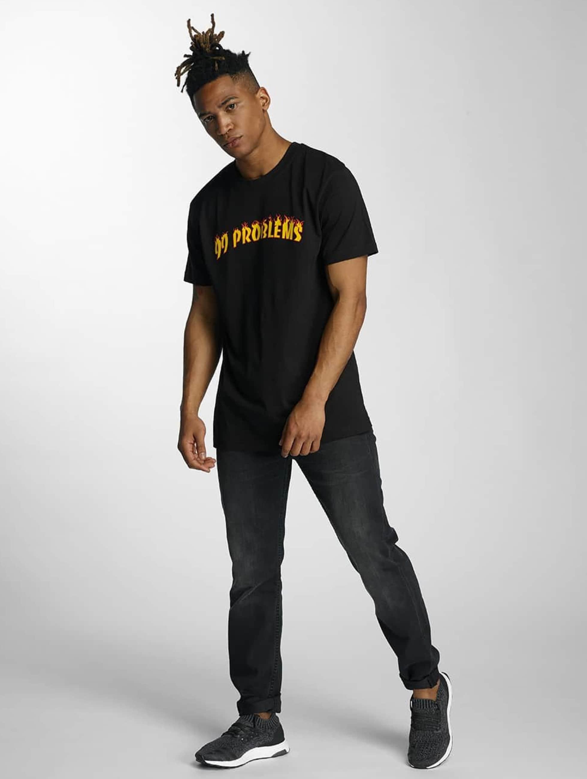Mister Tee t-shirt 99 Problems zwart