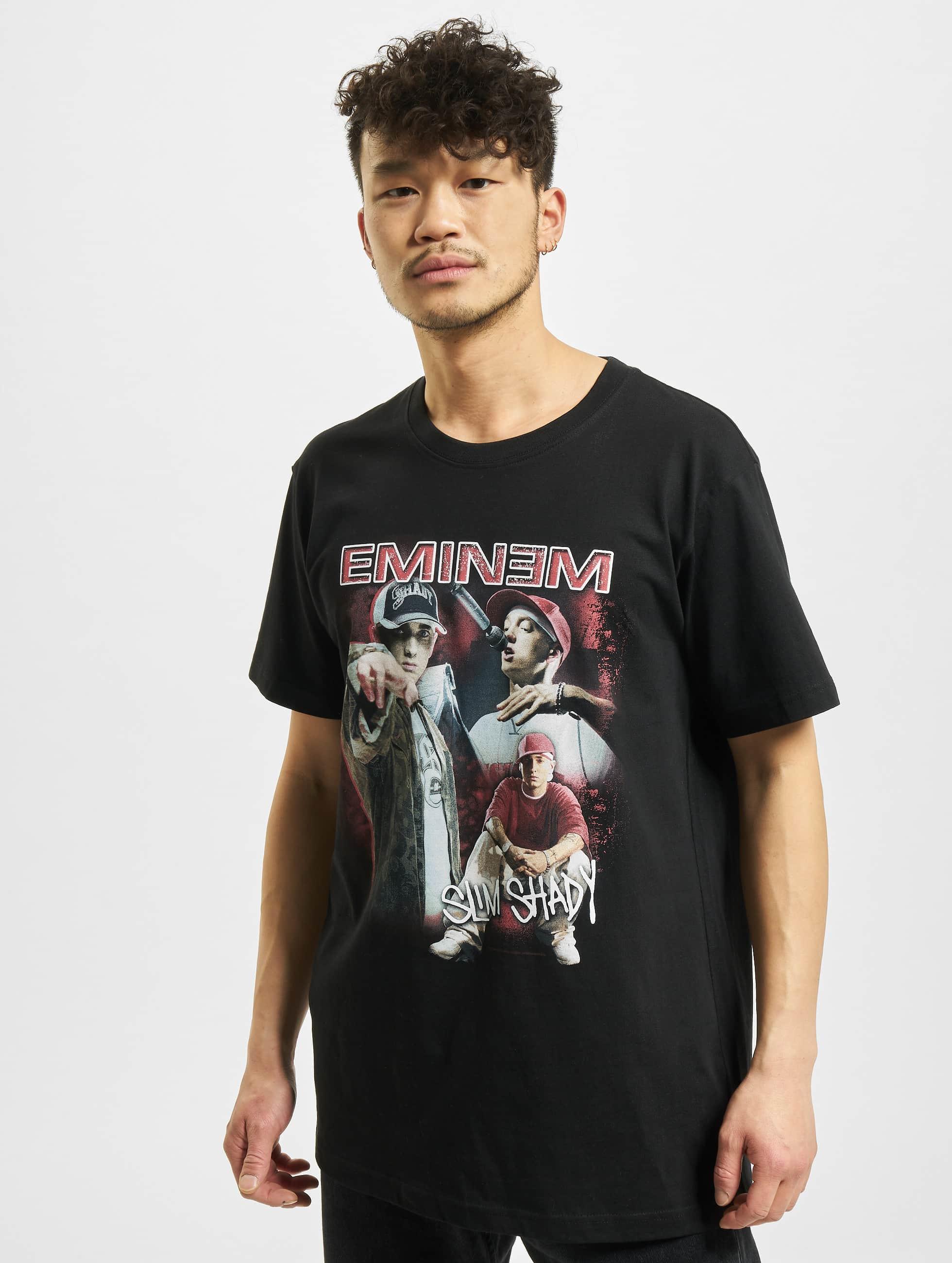 Mister Tee t-shirt Eminem Slim Shady zwart
