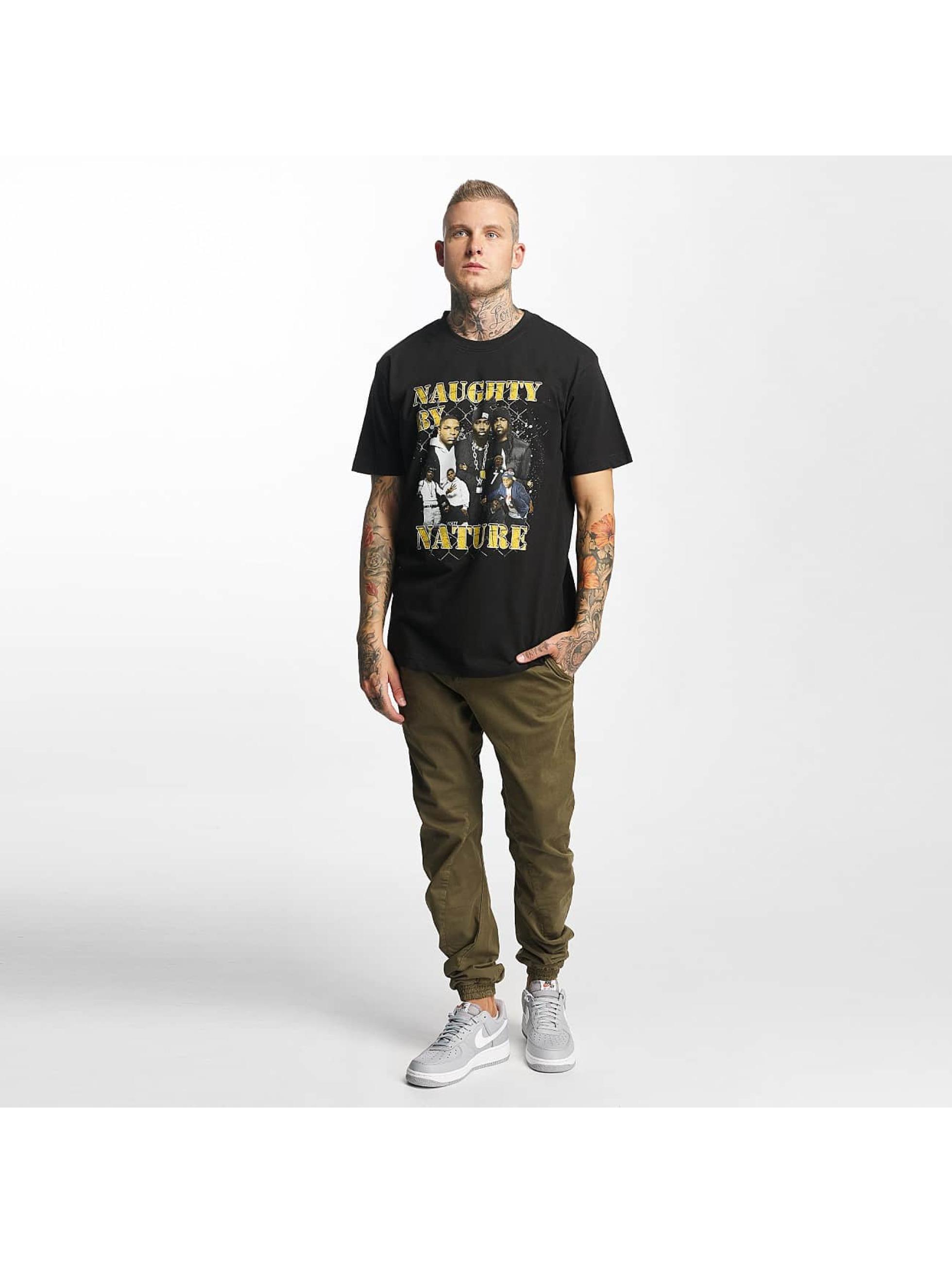 Mister Tee t-shirt Naughty by Nature 90s zwart