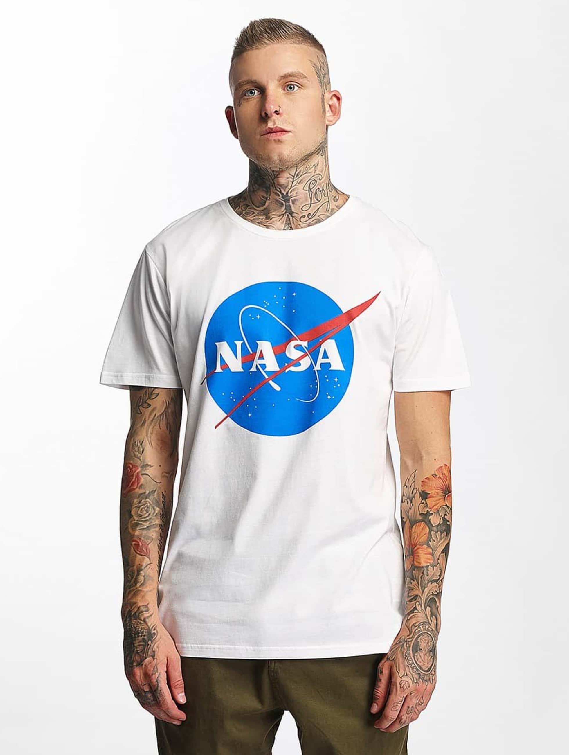 Mister Tee T-Shirty NASA bialy