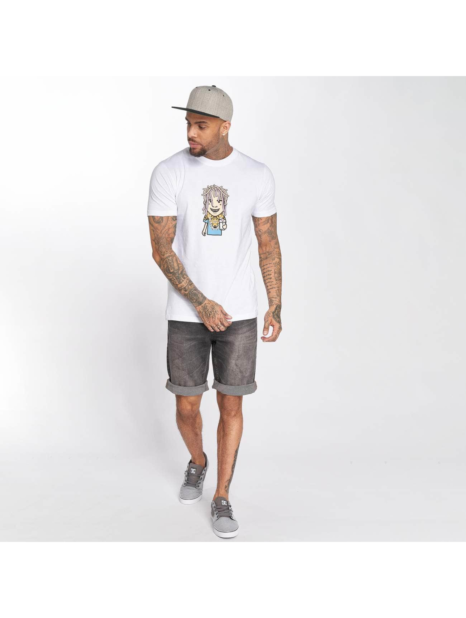 Mister Tee T-Shirty Pump bialy