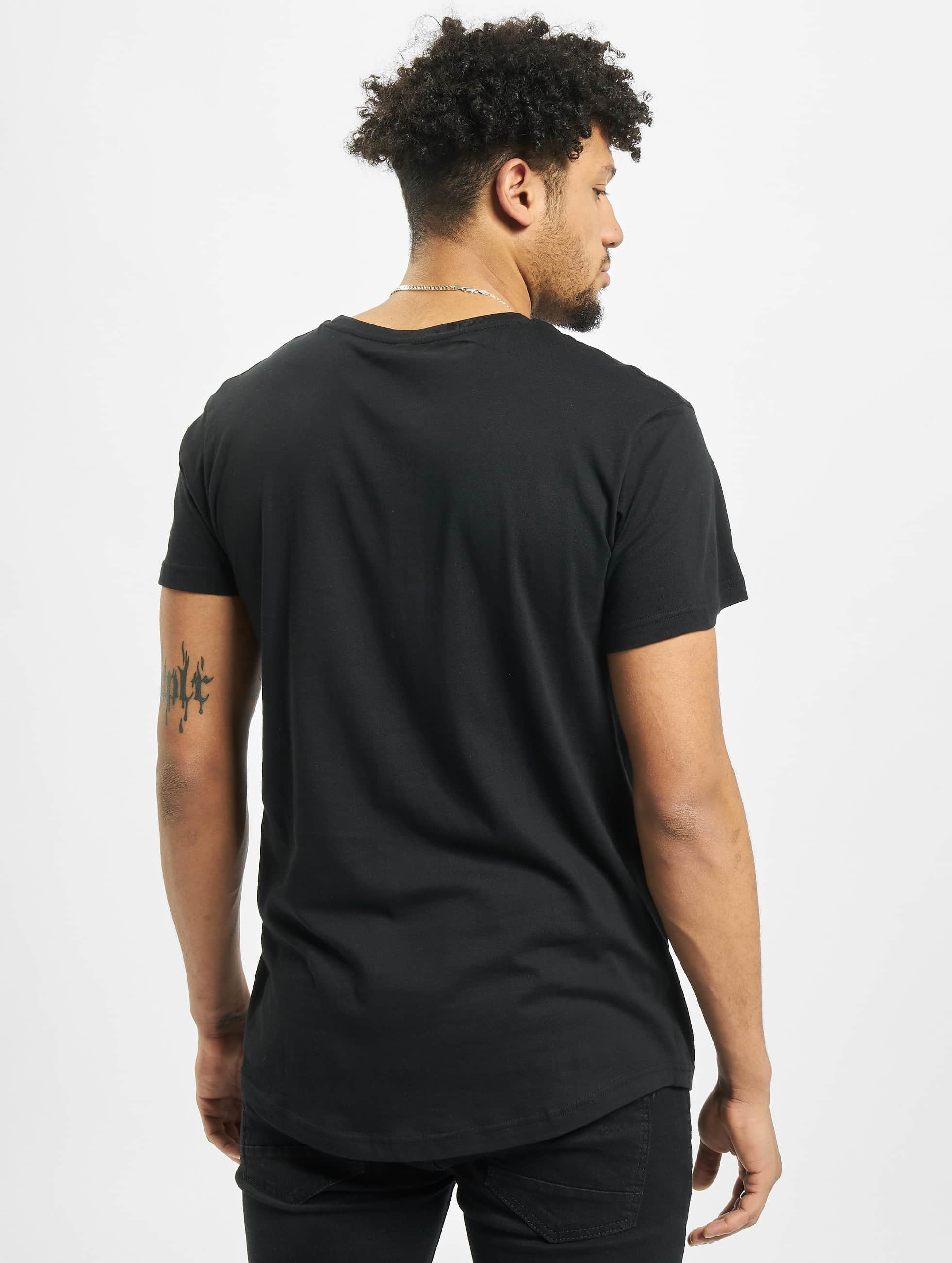 Mister Tee T-Shirty 2Pac Eyez Long czarny